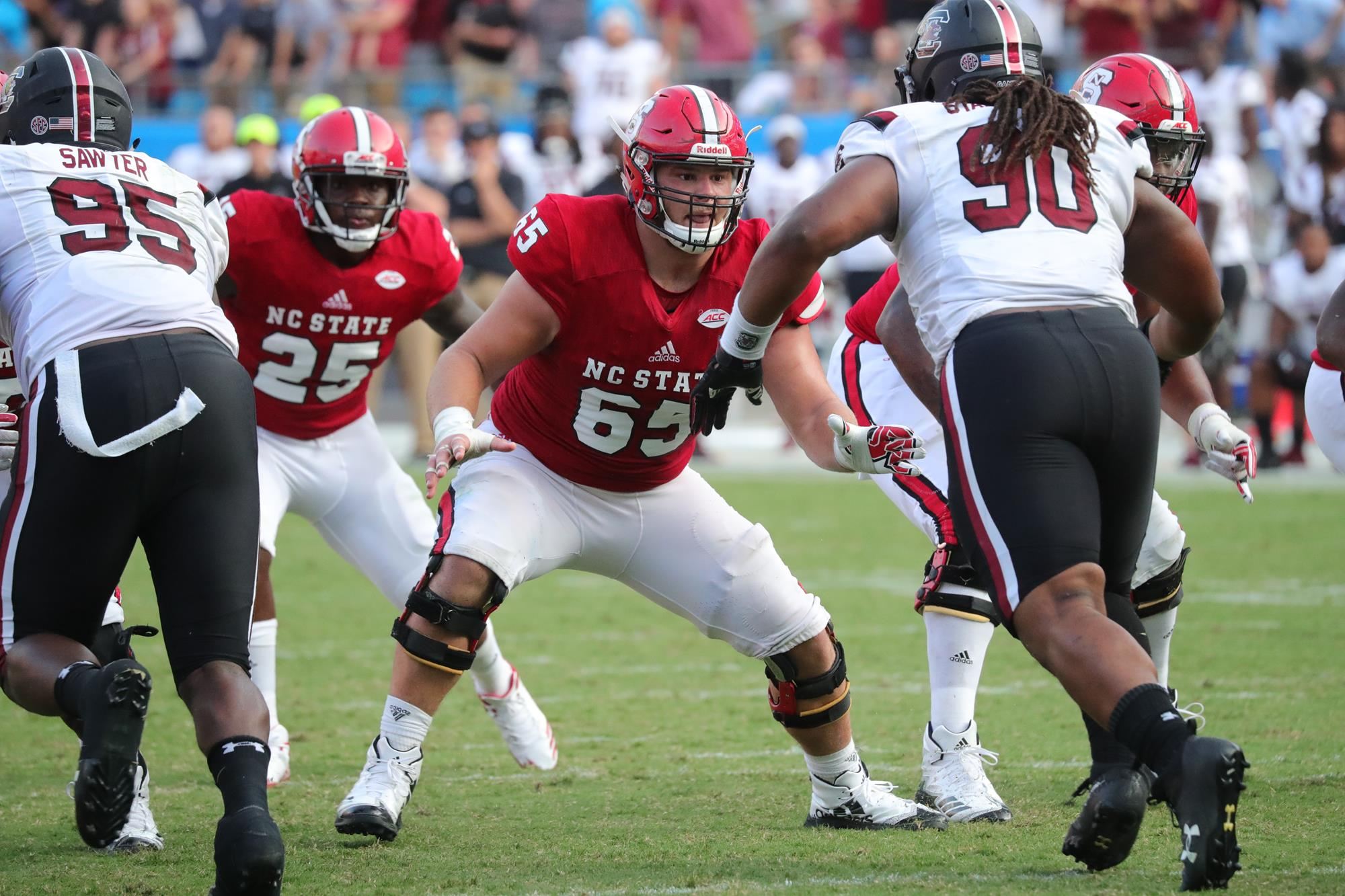 Garrett Bradbury - 2015 - Football - NC State University