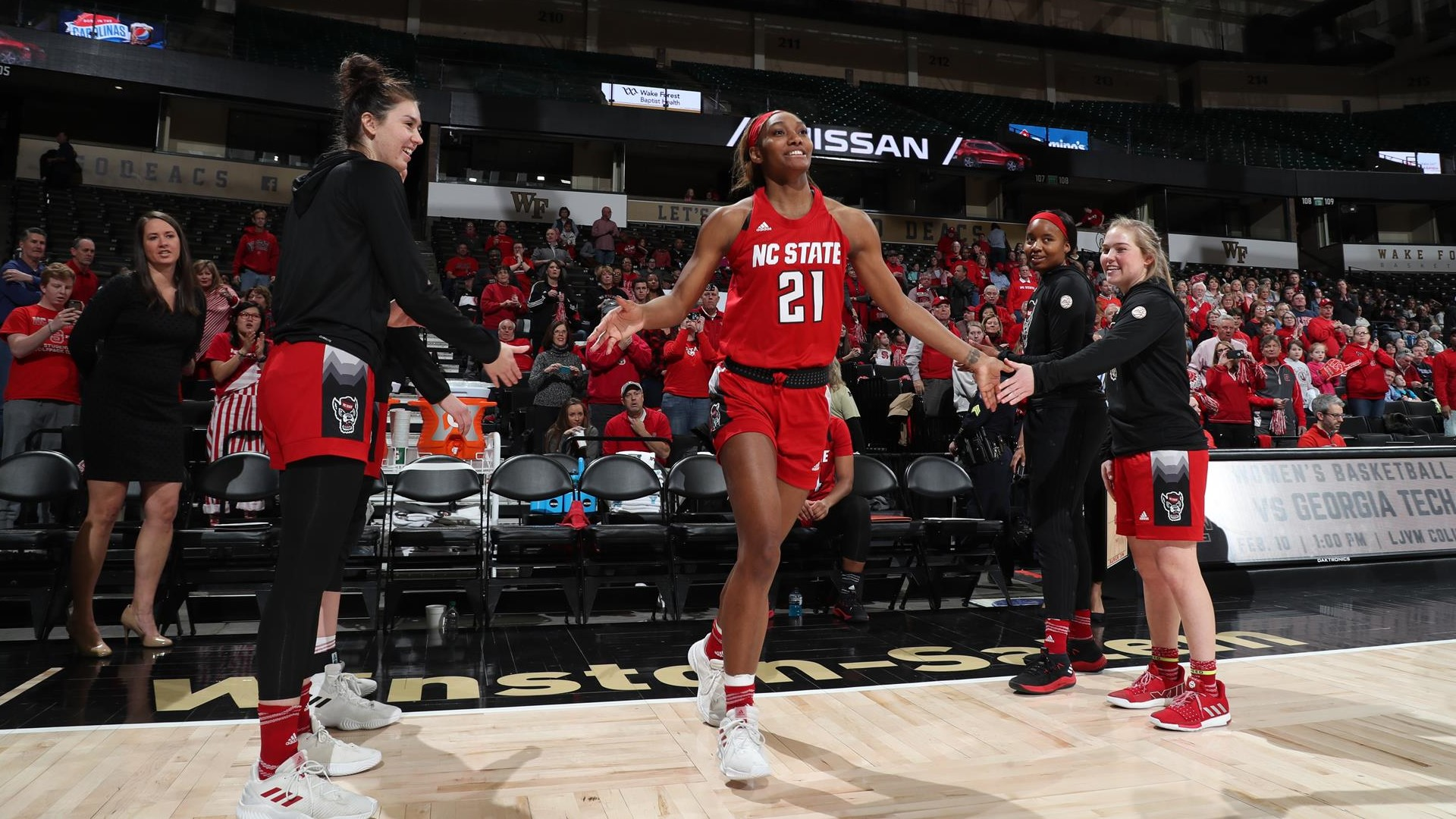 DD Rogers - 2018-19 - Women's Basketball - NC State