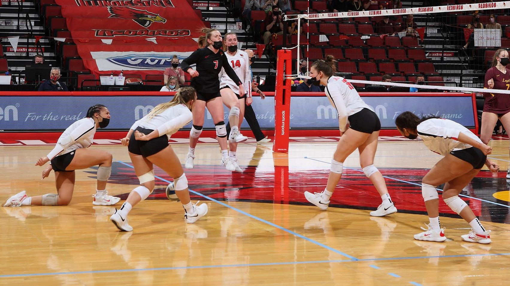 Wiebel, Day Collect MVC Weekly Honors - Illinois State