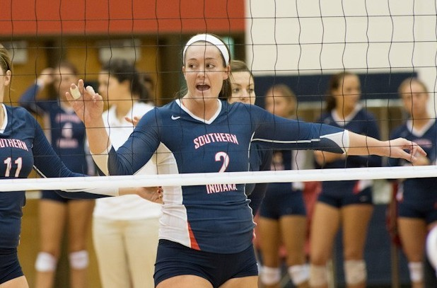 Emily Diedrich 2012 Women S Volleyball University Of Southern Indiana Athletics