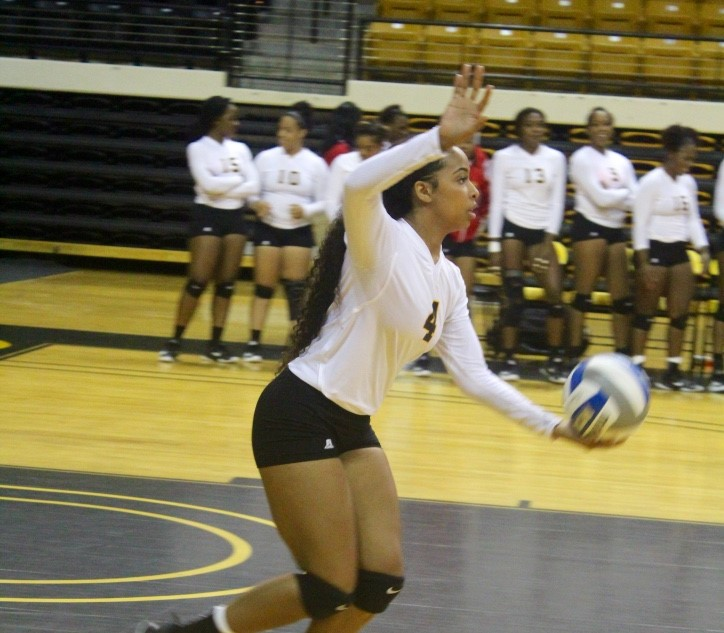 L Muriell Thrower Women S Volleyball Grambling State University Athletics