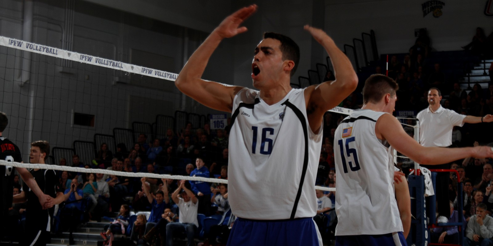 Ramon Burgos 2015 Men S Volleyball Purdue Fort Wayne Athletics