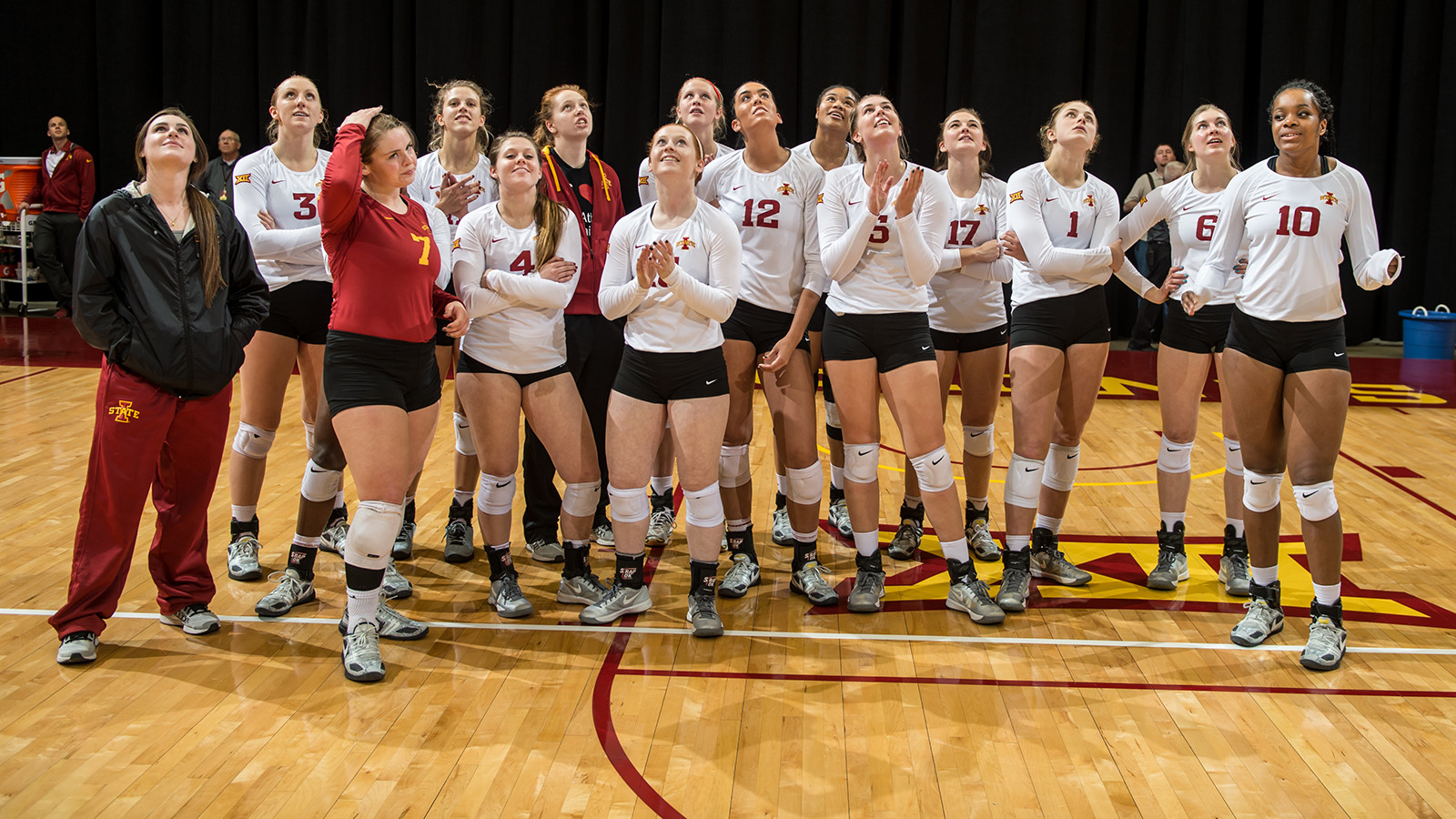 Six Cyclones Head To Usa Volleyball Tryouts Iowa State University Athletics