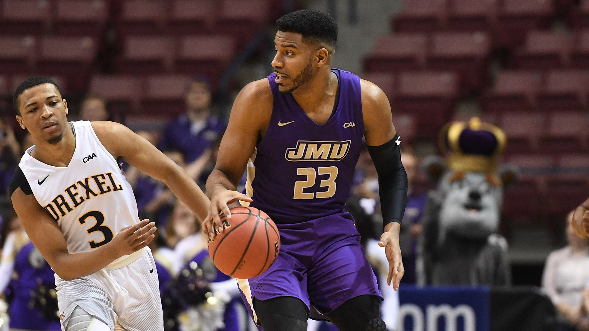 low priced 96f8e 74058 Ramone Snowden - Men's Basketball - James Madison University ...