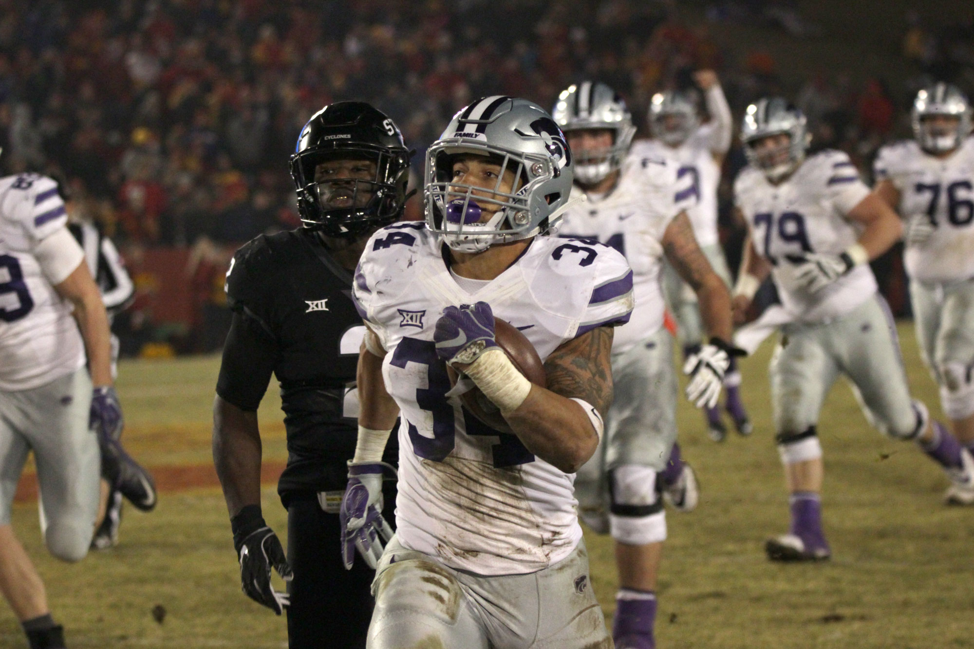 outlet store 2d8e1 f00db Alex Barnes - Football - Kansas State University Athletics
