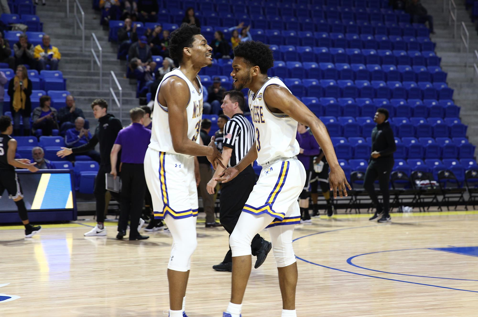 huge discount 697be 7ac80 Trey Johnson - 2019-20 - Men's Basketball - McNeese State ...
