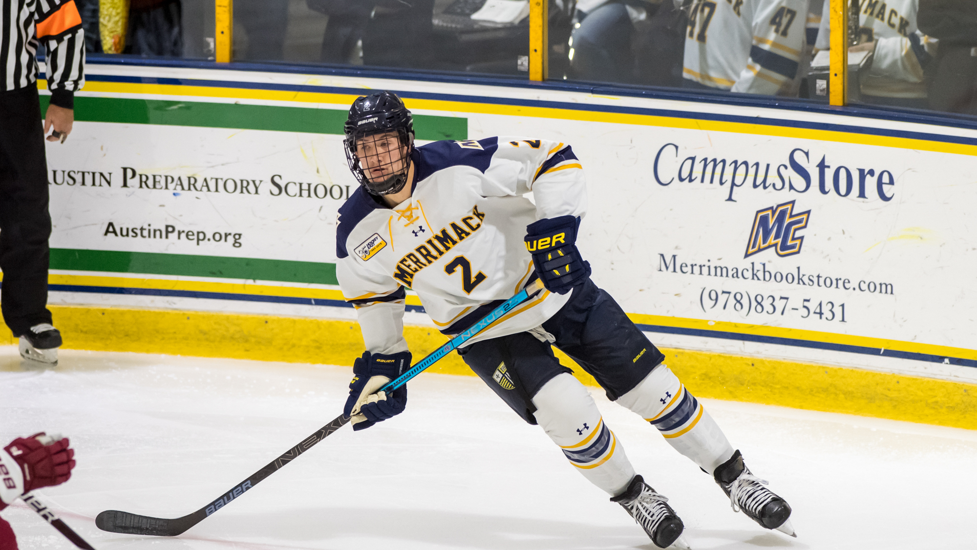 Ryan Cook - Men's Ice Hockey - Merrimack College Athletics