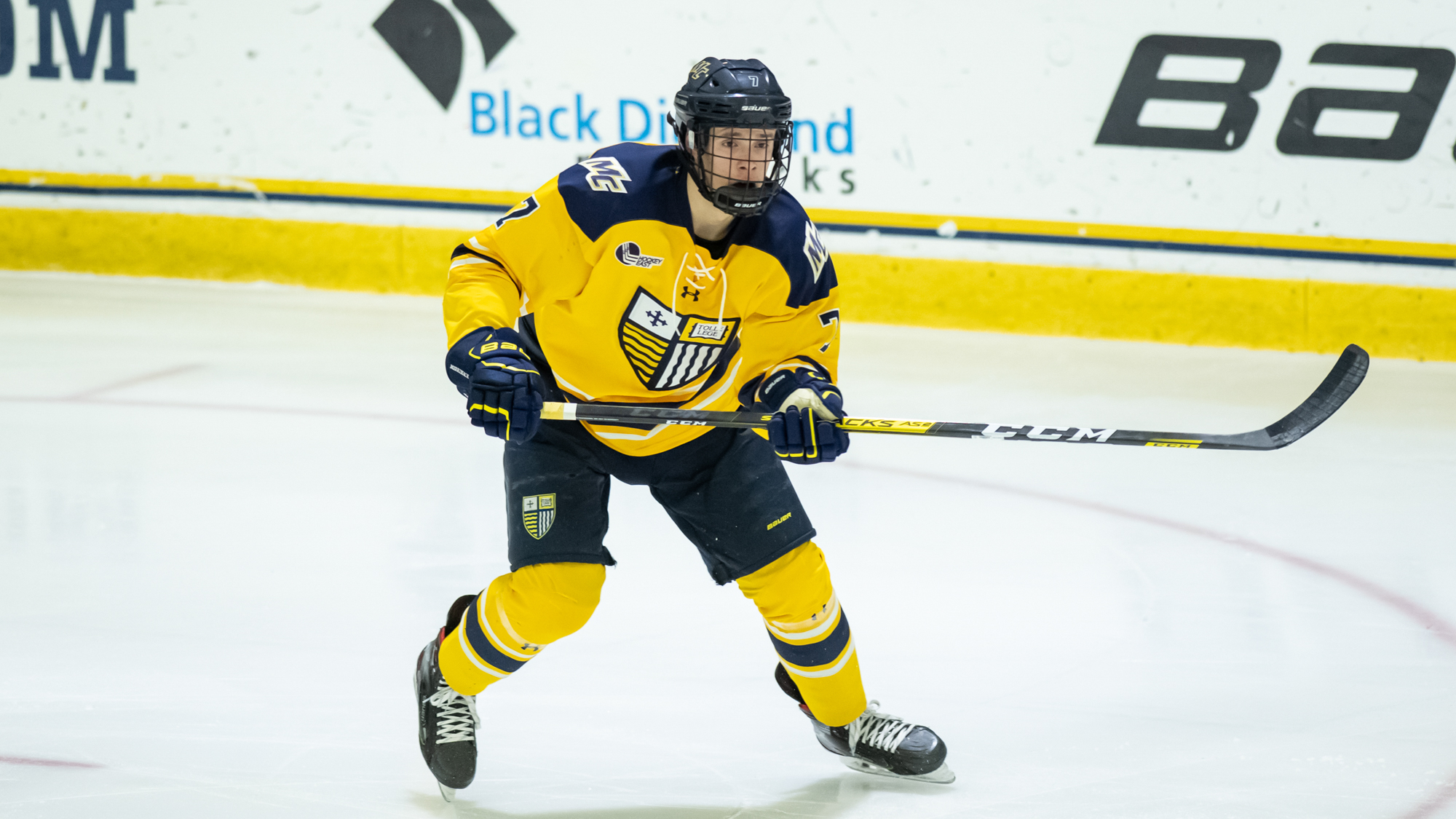 Zach Uens - Men's Ice Hockey - Merrimack College Athletics