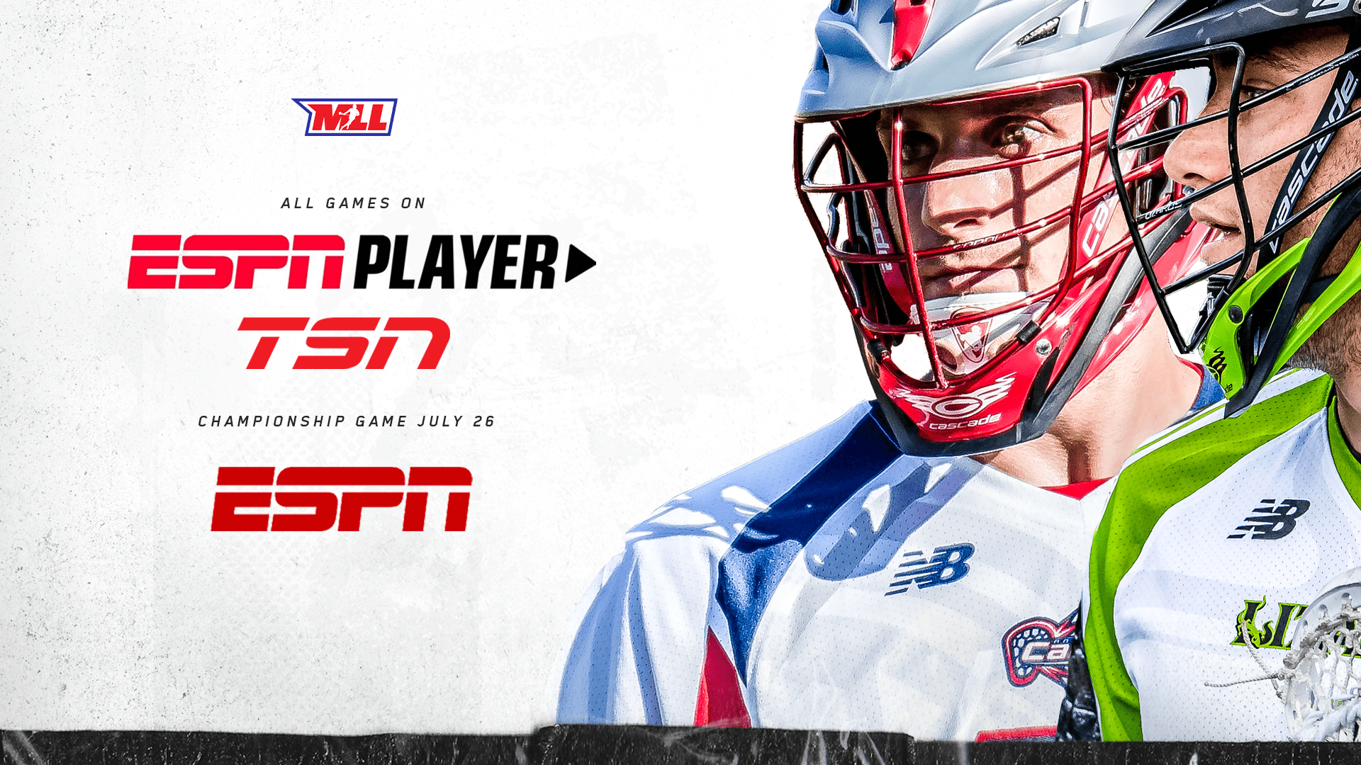 Mll Announces Expanded Broadcast Schedule Mll Major League Lacrosse