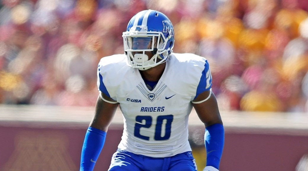 premium selection 54e75 d13a9 Kevin Byard - Football - Middle Tennessee State University ...