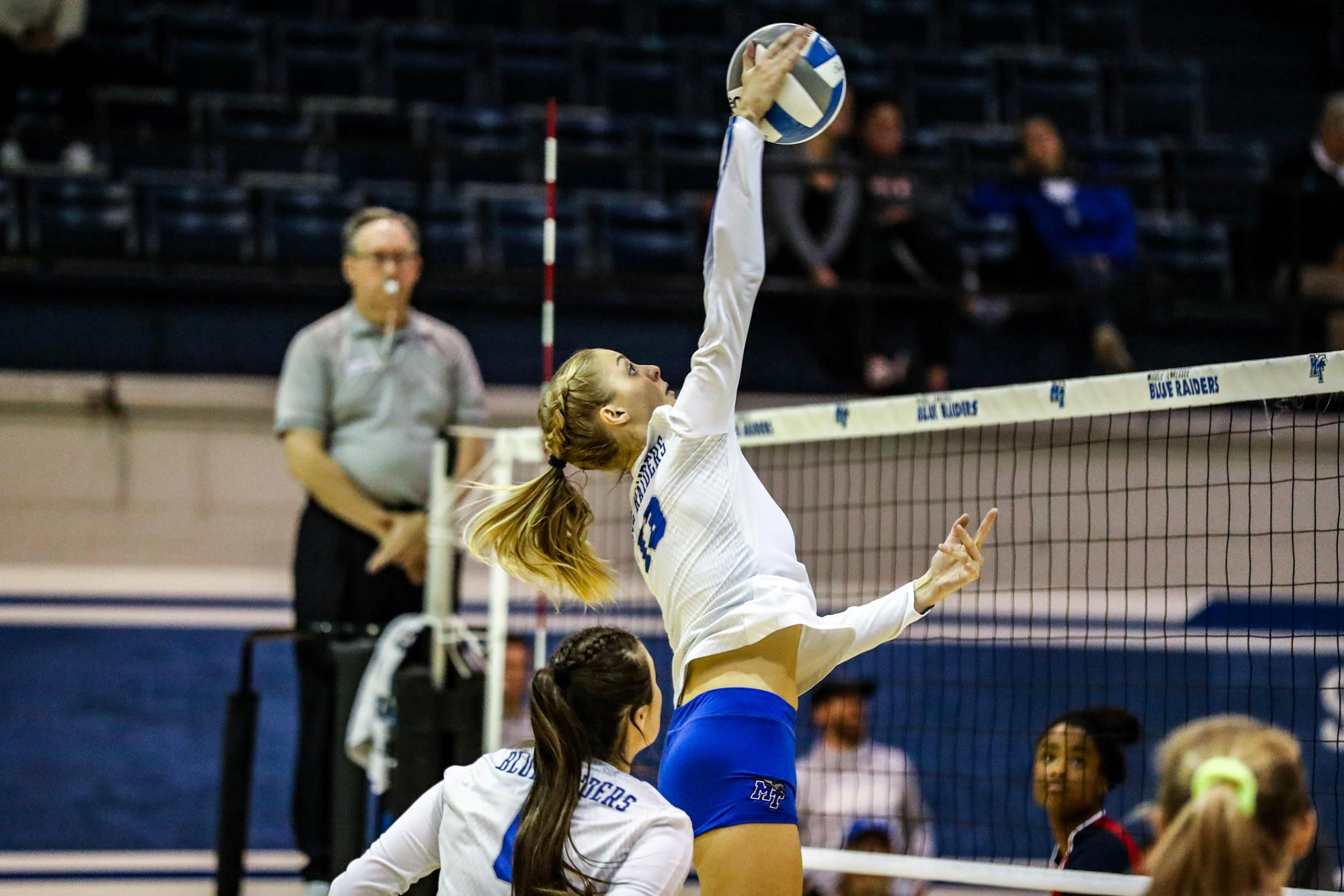 Mikaela Weidmann Women S Volleyball Middle Tennessee State University Athletics