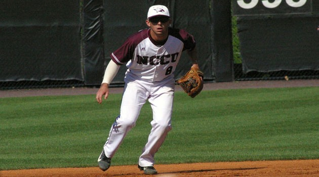Zack Lee Baseball North Carolina Central University Athletics
