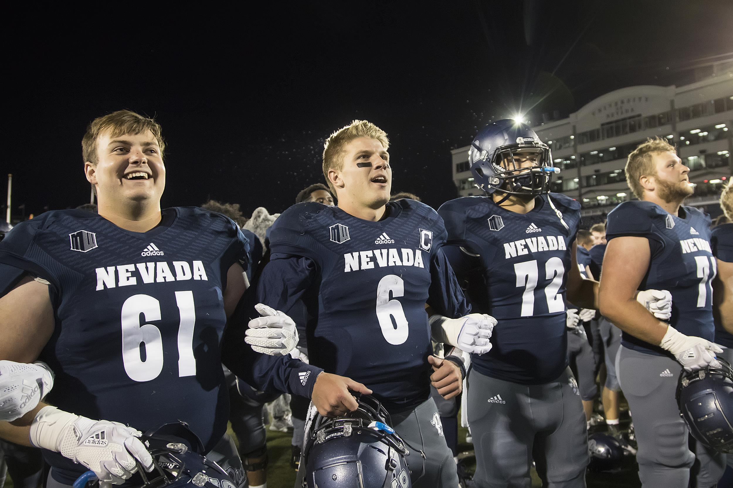 Ty Gangi Football University Of Nevada Athletics