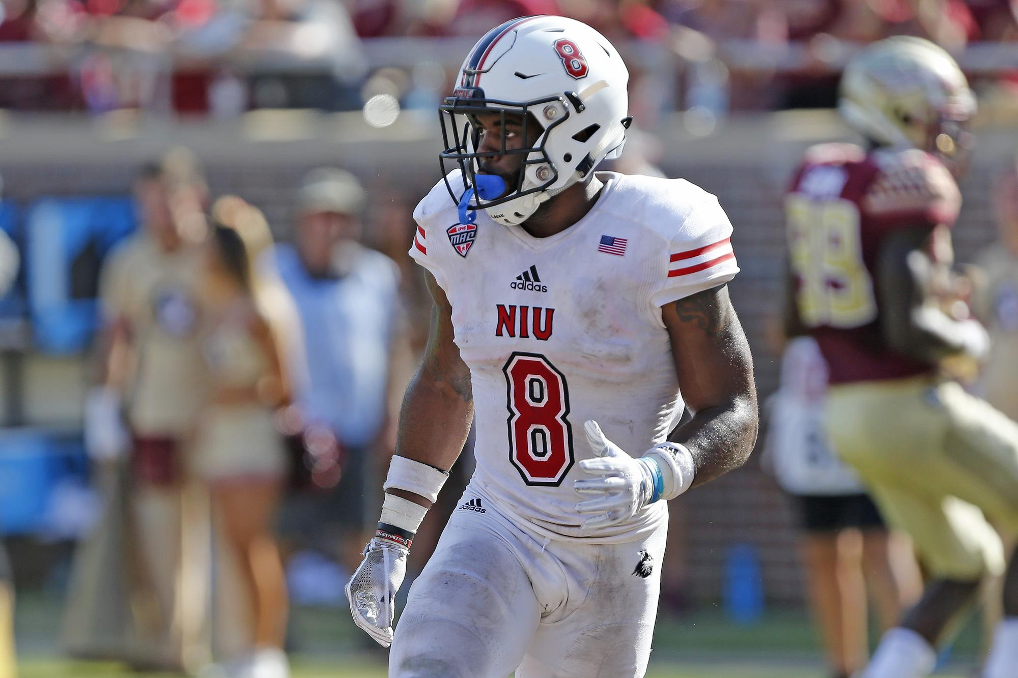 superior quality e97f6 32858 Mykelti Williams - Football - NIU Athletics