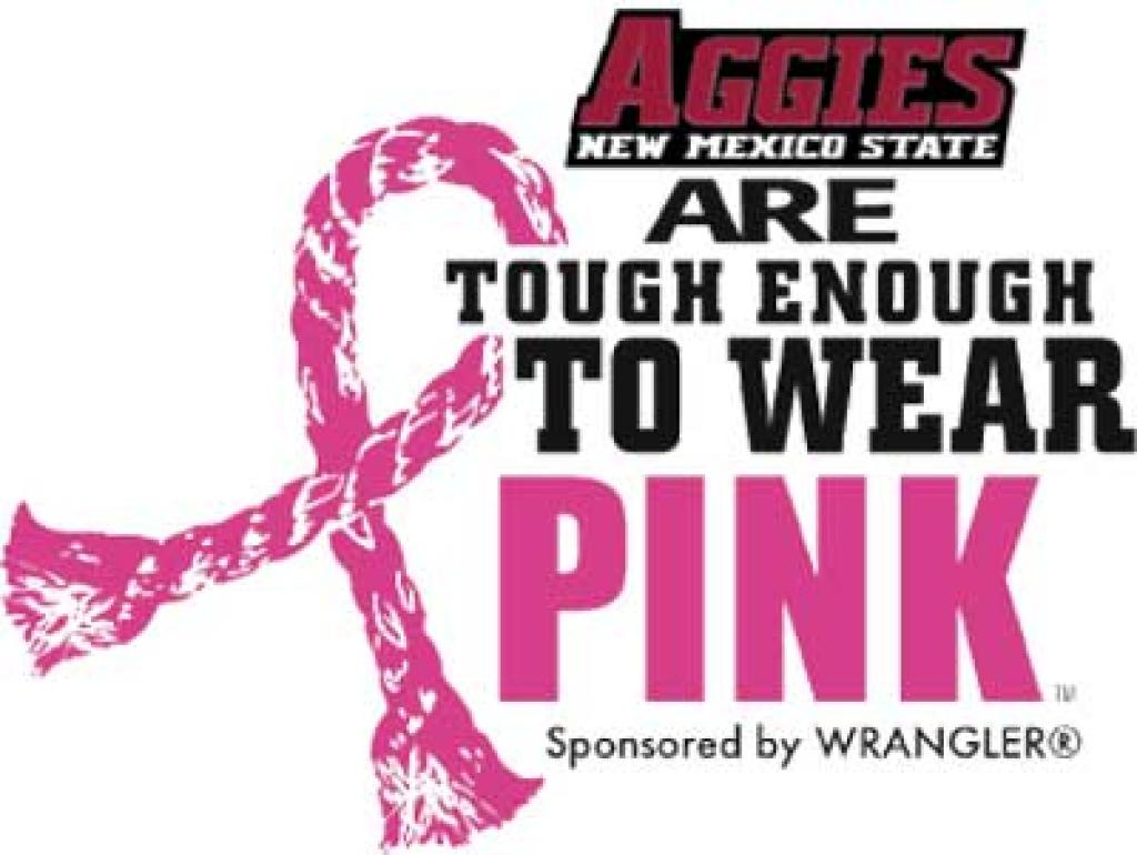 Nmsu Aggies Are Tough Enough To Wear Pink New Mexico State