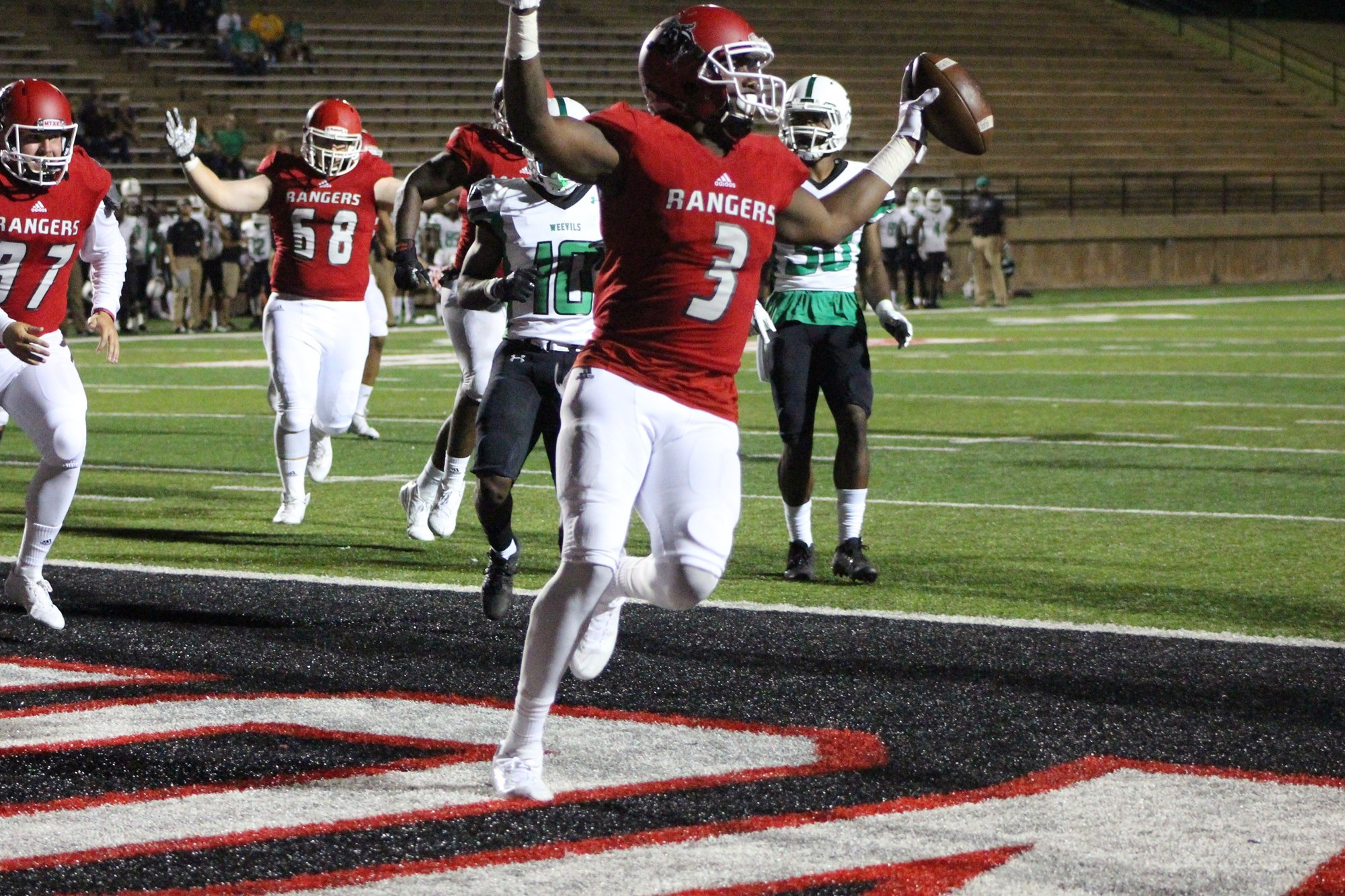 Northwestern Oklahoma State University >> Jamar Morris 2018 Football Northwestern Oklahoma State