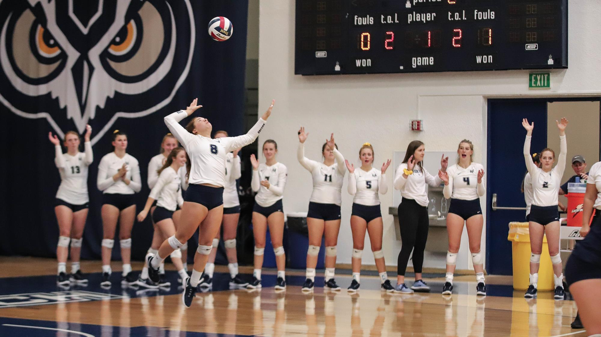 Eighth Ranked Penn State Eliminates Udvb In Ncaa Second Round University Of Dayton Volleyball News Volleyball Team