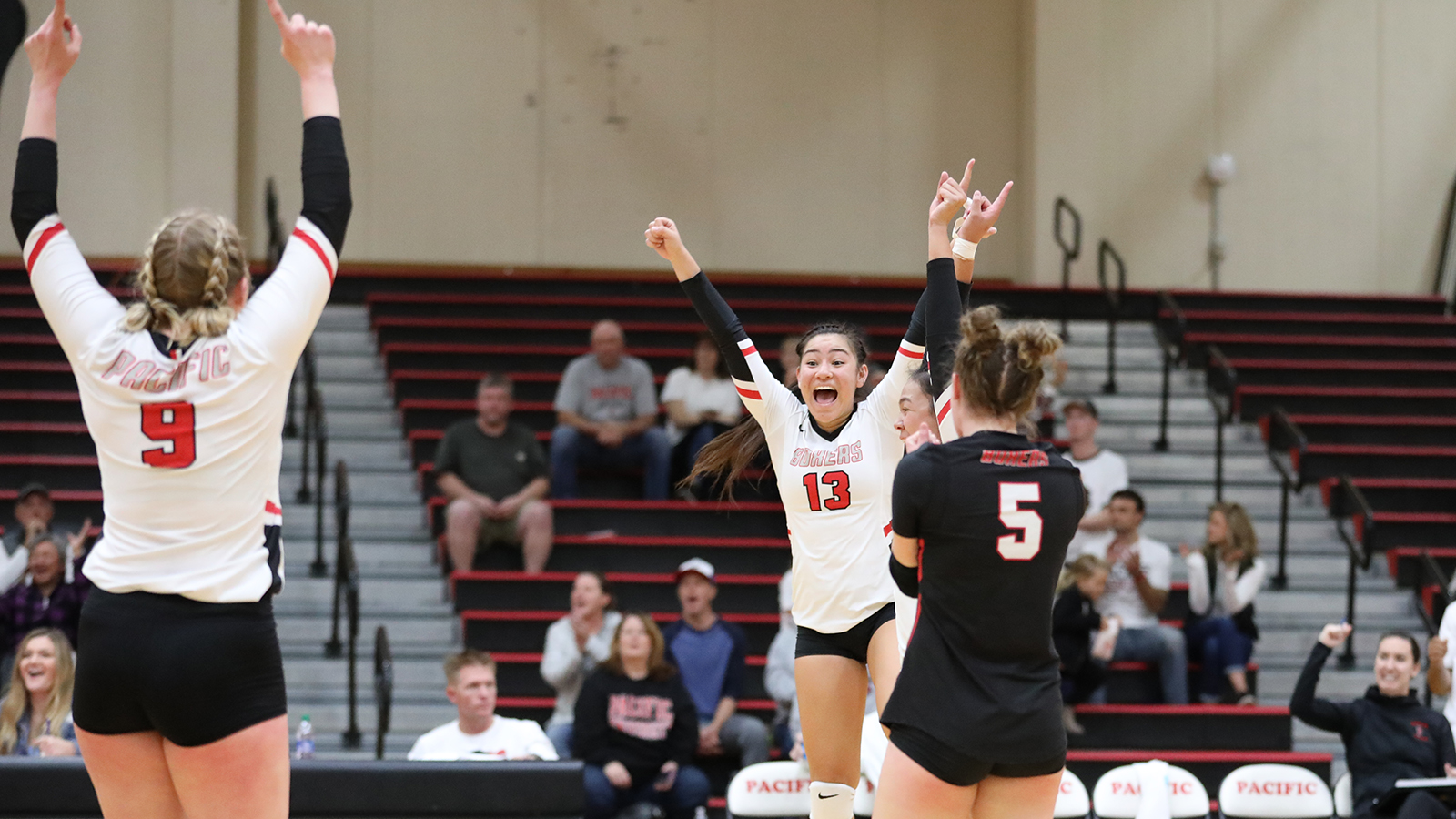 Shaianne Cambra Volleyball Pacific University Athletics