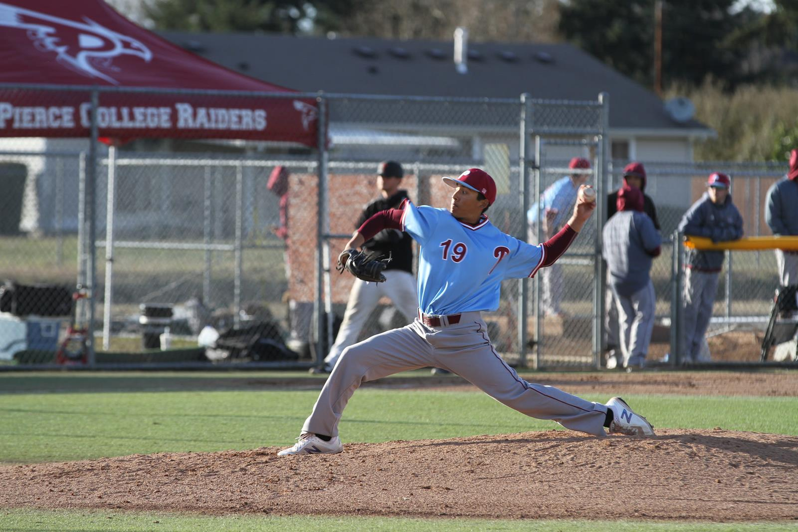 Dominic Agron Baseball Pierce College Athletics