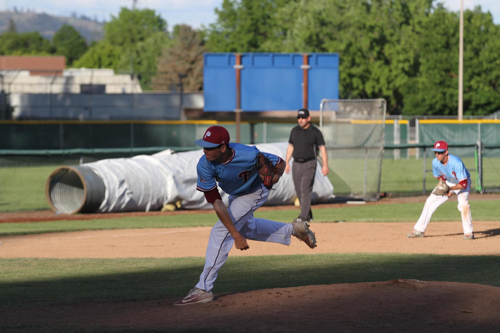 Tyler Fox Baseball Pierce College Athletics