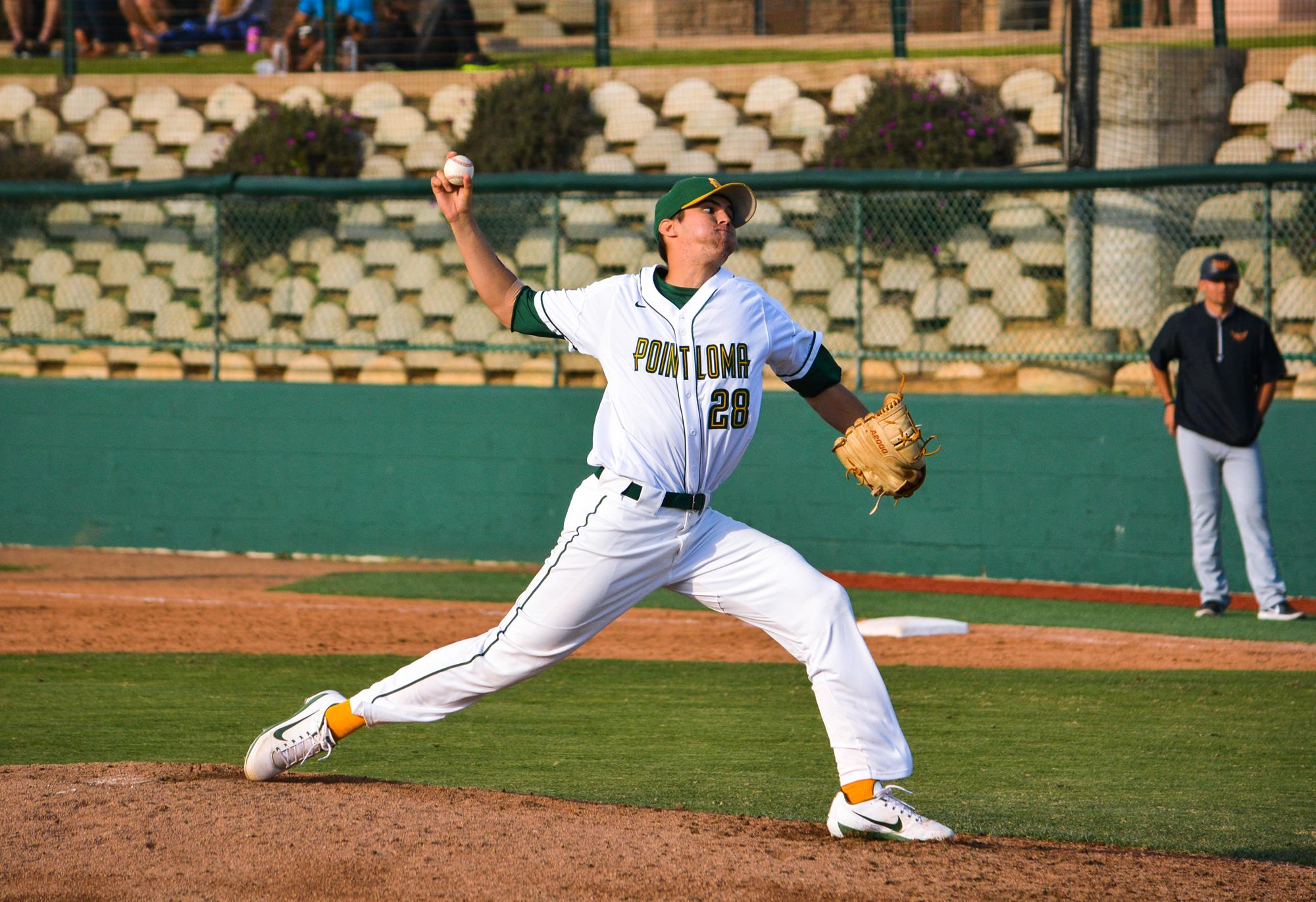 Robert Ortiz Iii Baseball Plnu Athletics
