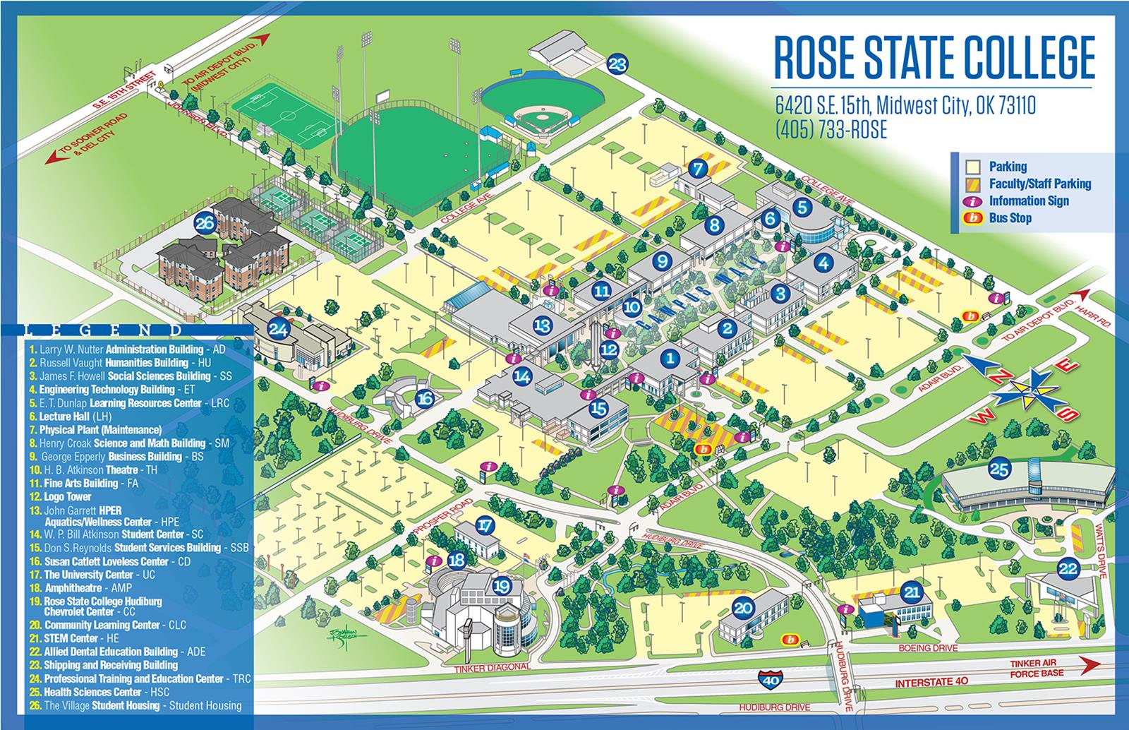 Rose State Campus Map - Rose State College Athletics on sacramento city college map, city college of san francisco, city college virtual tour, south city campus map, city college nyc, pcc map, cuny city college map, city college san diego ca, grove city college map, city college graduate programs, riverside city college map, city college accreditation, san diego city map, city tech map, sd city college map, la city college map, san jose city college map, long beach city college map, city college events,