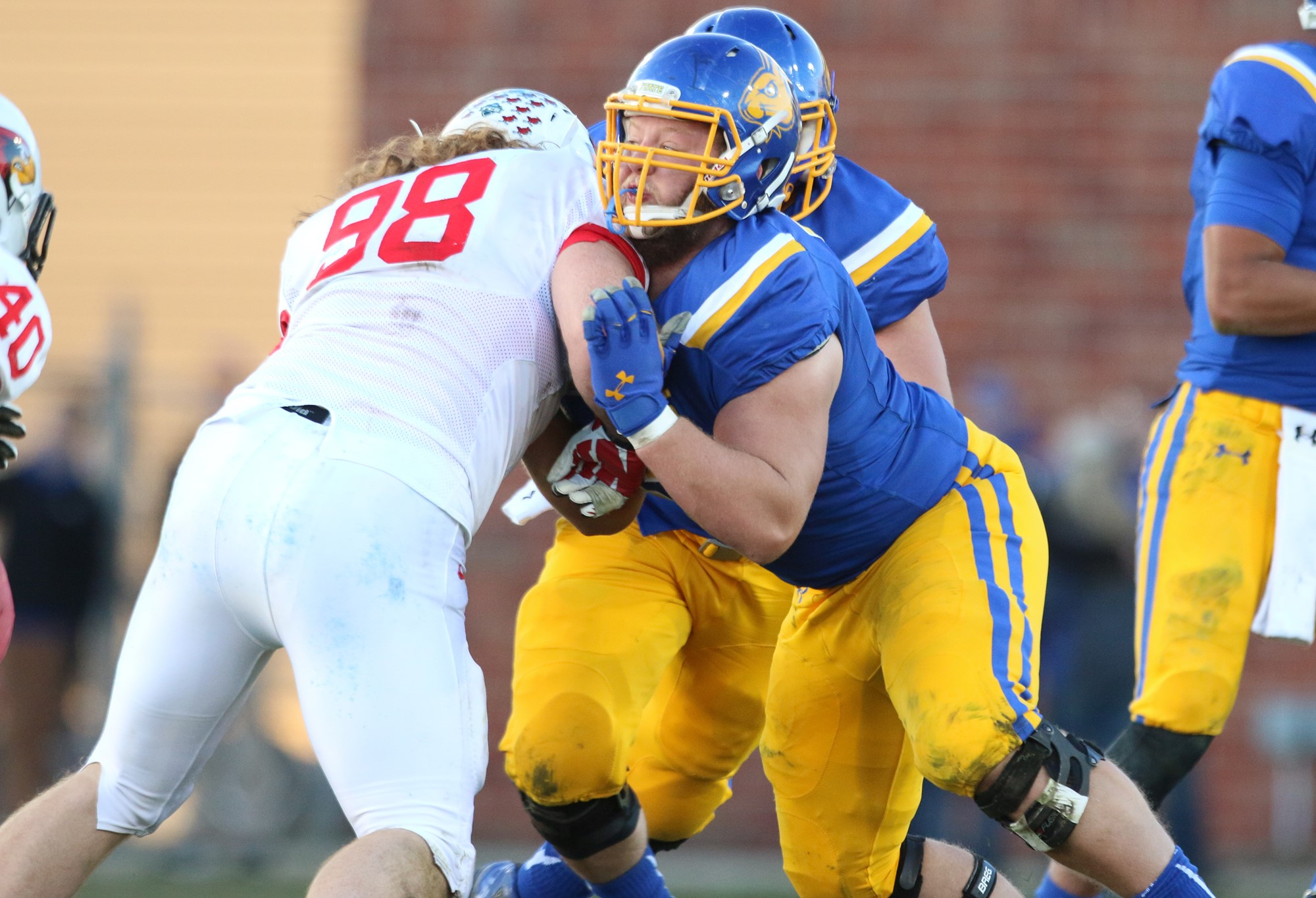 Dylan Seiter 2015 Football South Dakota State University Athletics