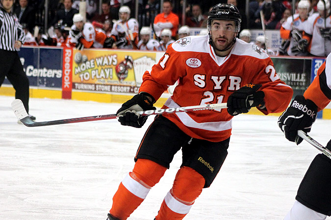 detailed look b8abf 436b8 Kyle Palmieri - Syracuse Crunch - Syracuse Crunch