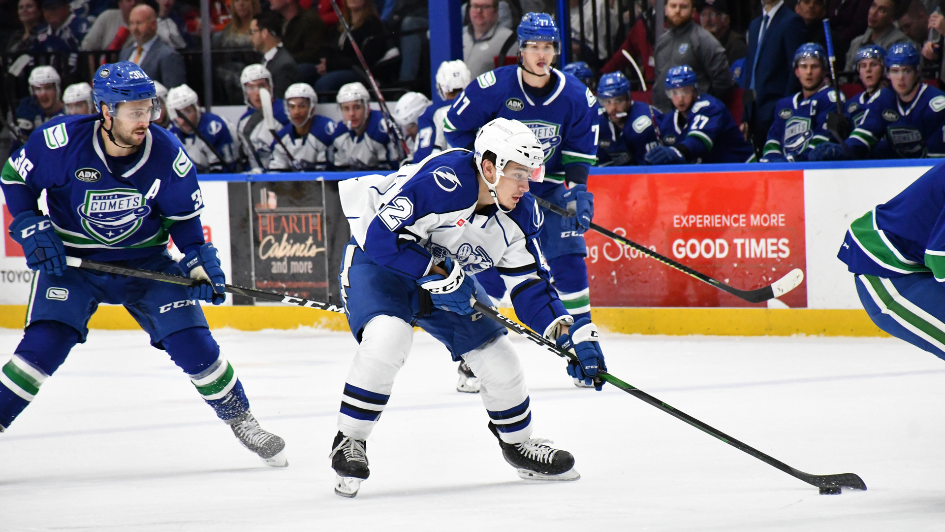 Crunch surpassed by Comets, 5-2