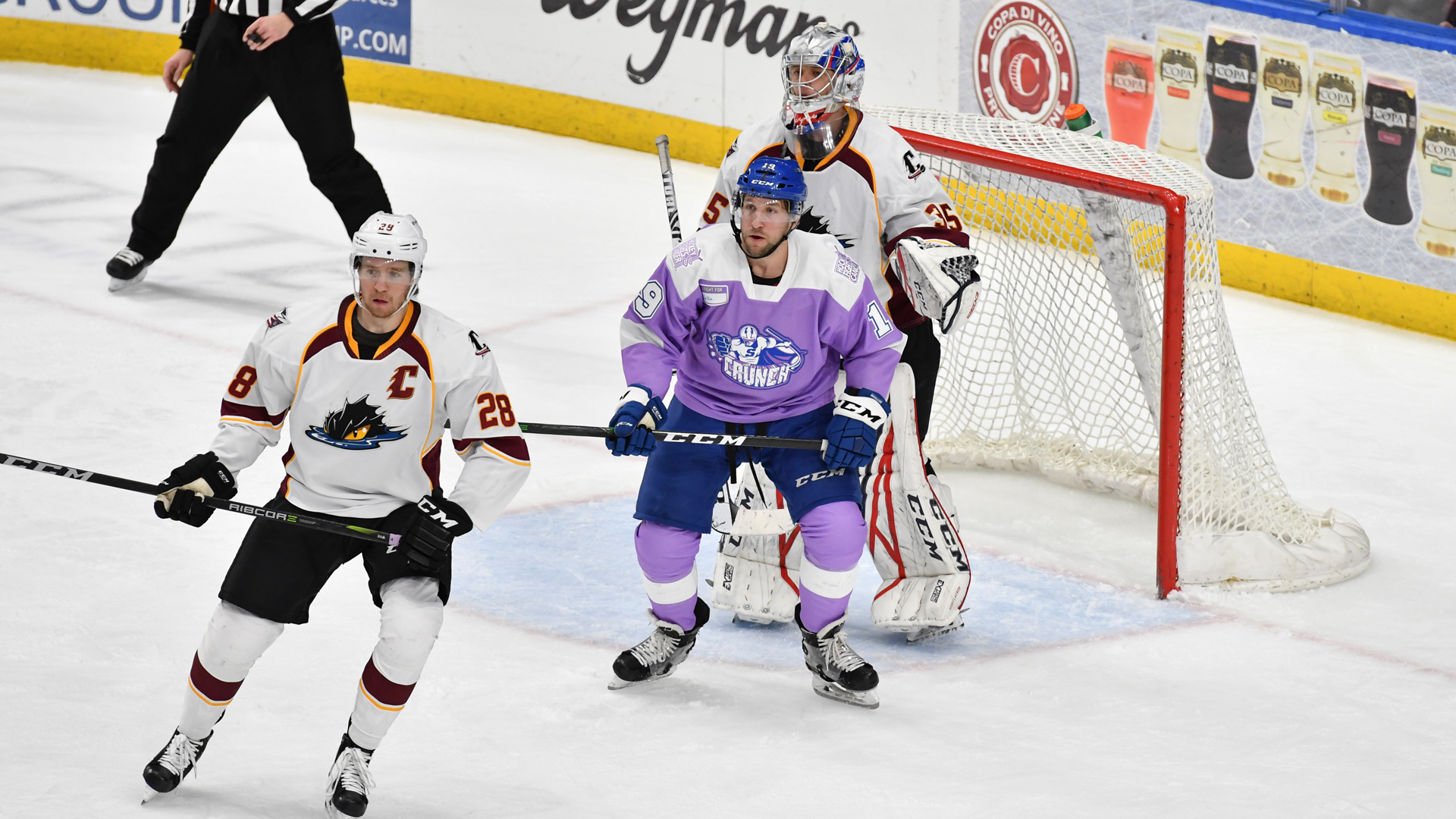 Crunch rally past Monsters, 4-2