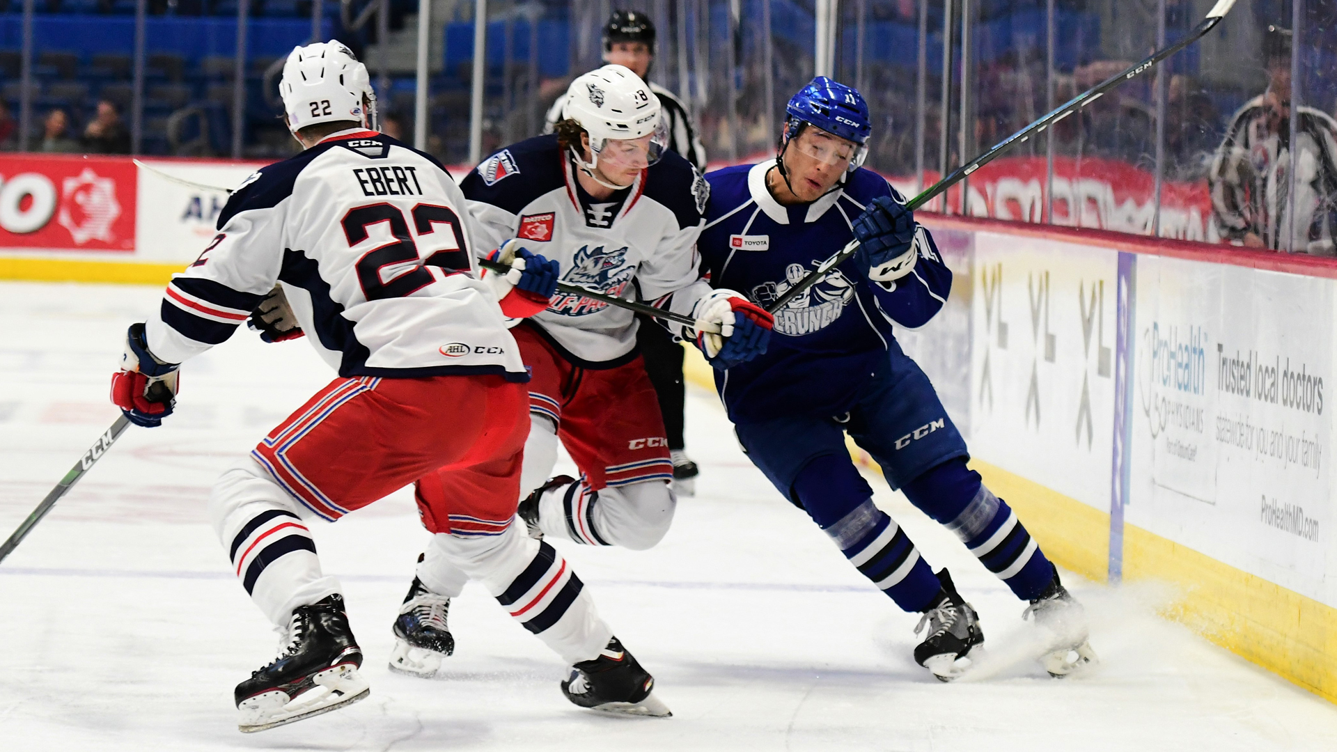 Crunch roll past Wolf Pack, 3-1