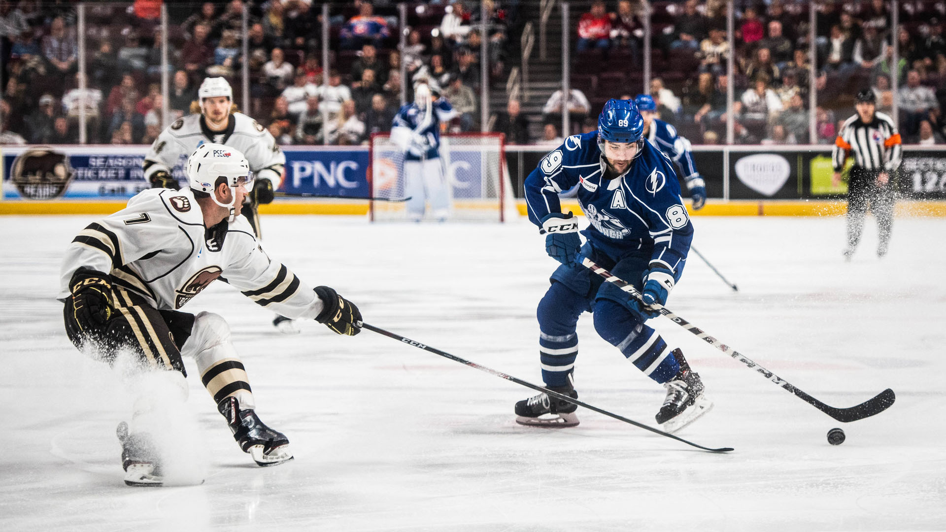 Crunch edged by Bears, 4-2