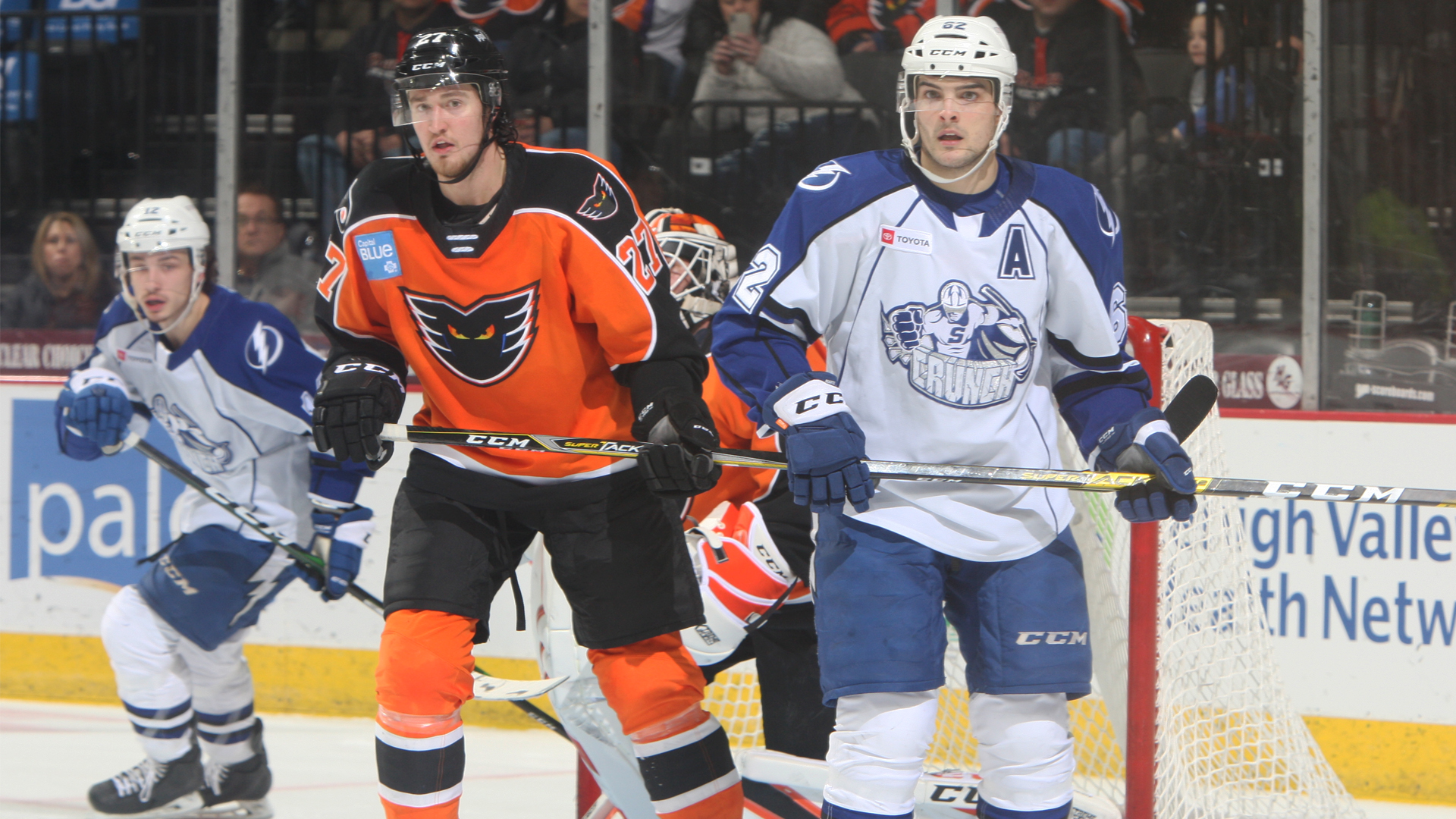 Crunch topped by Phantoms, 5-4