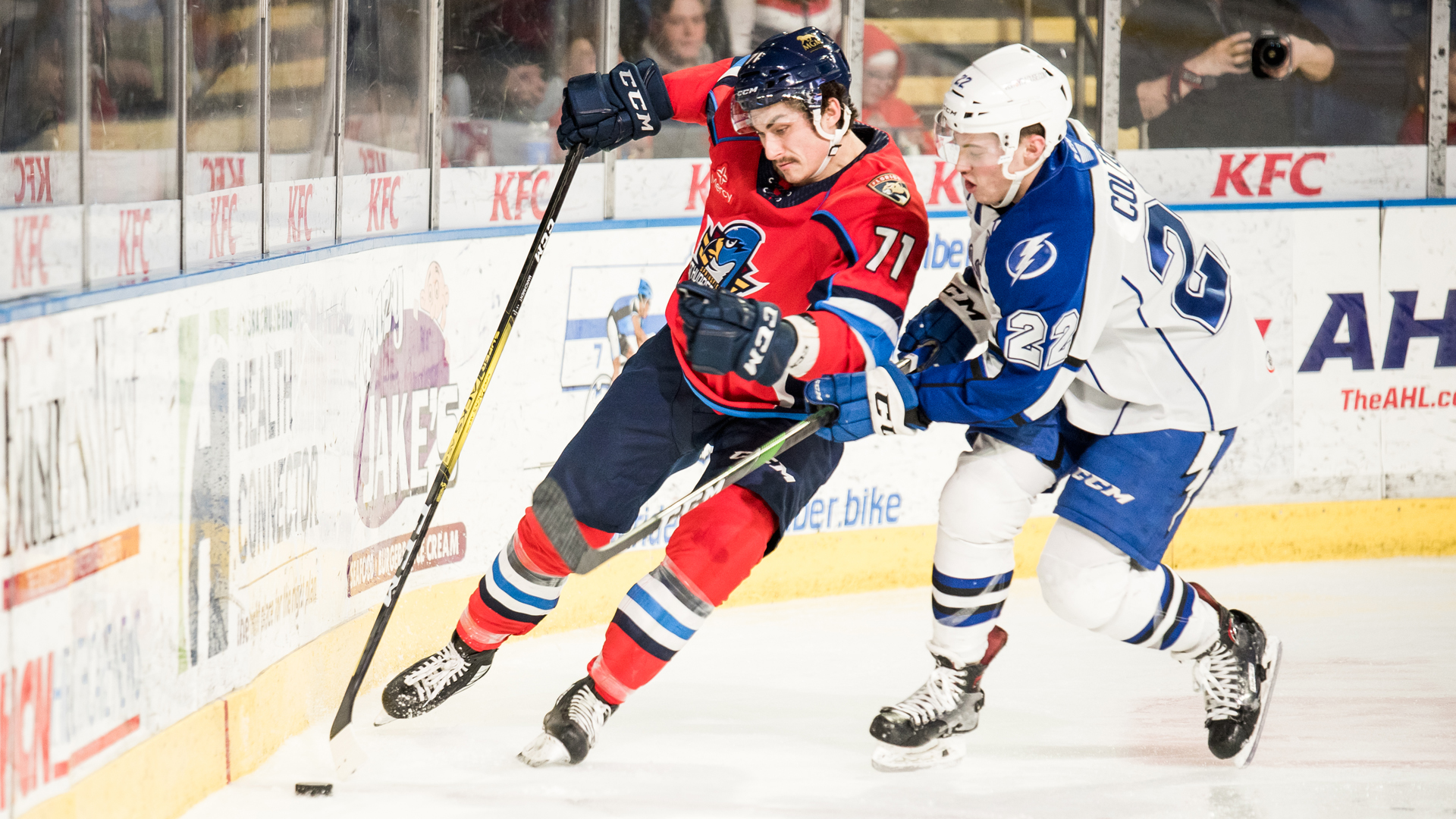 Crunch fall to Thunderbirds in overtime, 3-2
