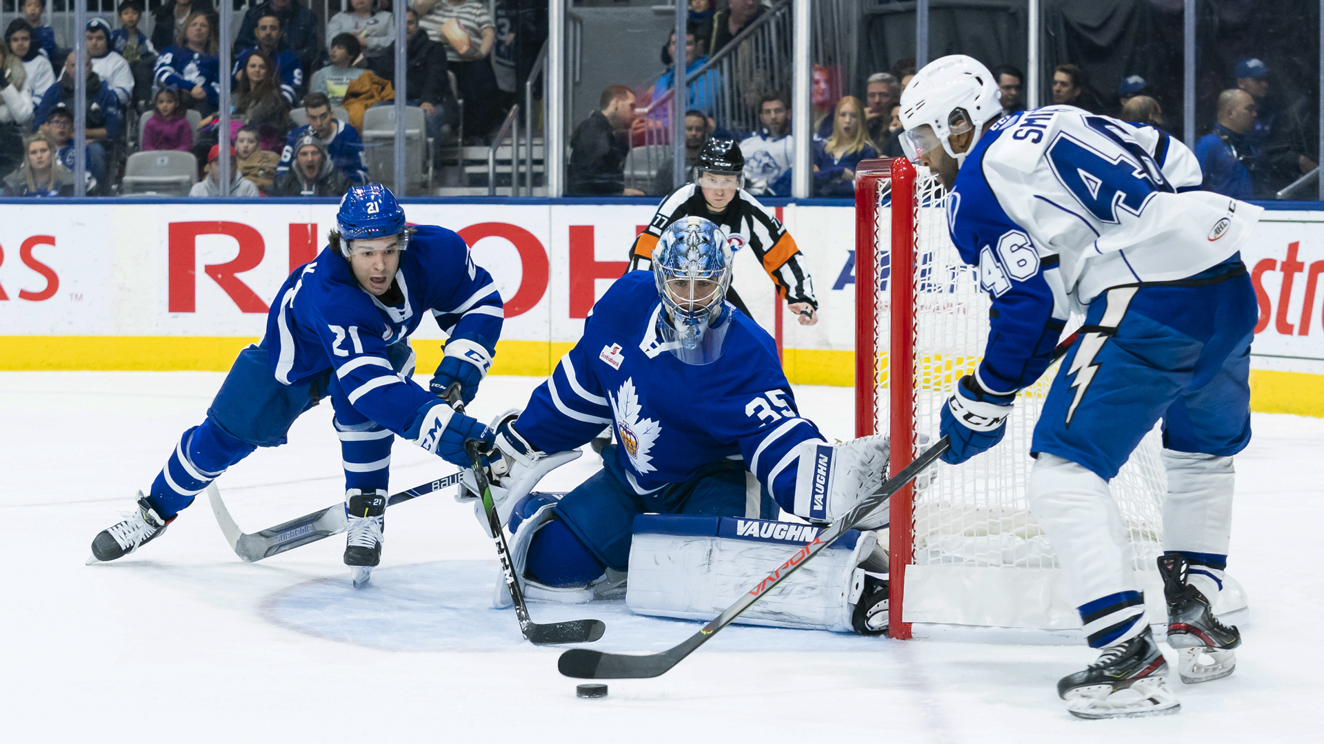 Crunch down Marlies, 2-1