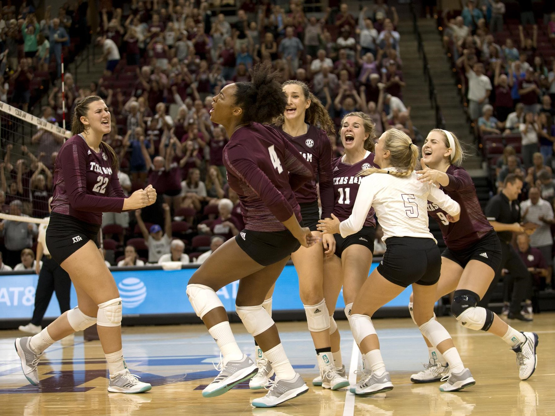 Kiara Mcgee Volleyball Texas A M Athletics Home Of The 12th Man