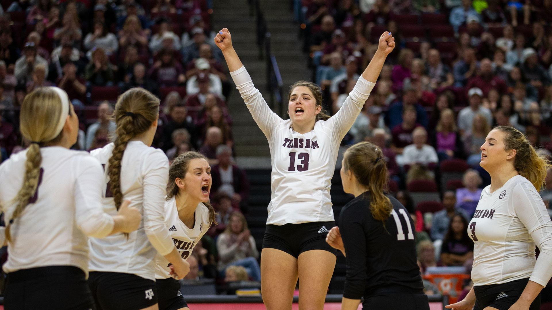 Allison Fields Volleyball Texas A M Athletics Home Of The 12th Man