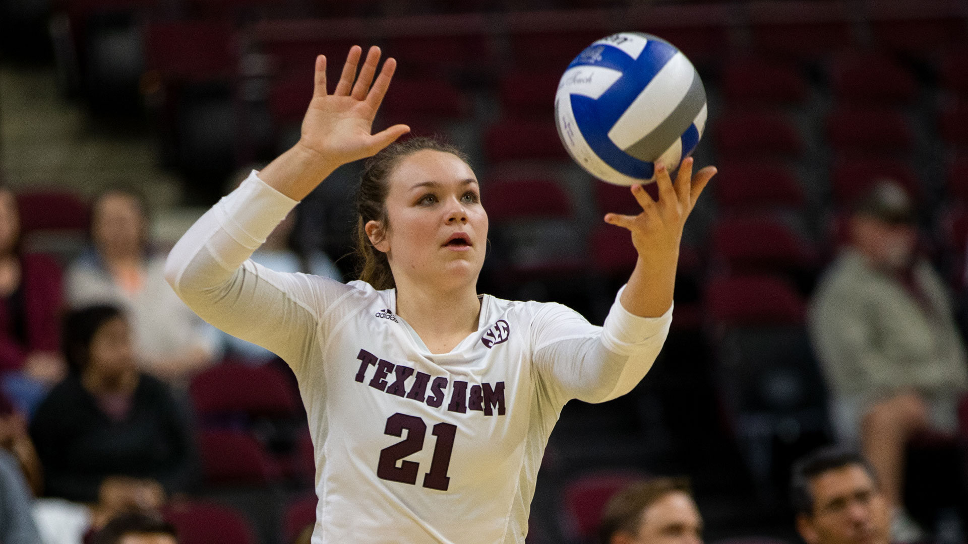 Haley Slocum Volleyball Texas A M Athletics Home Of The 12th Man