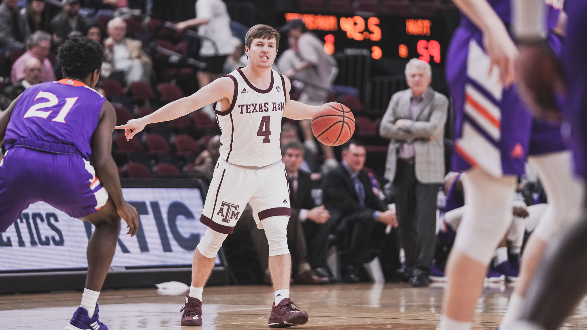 Mark French Men's Basketball Texas A&M Athletics Home