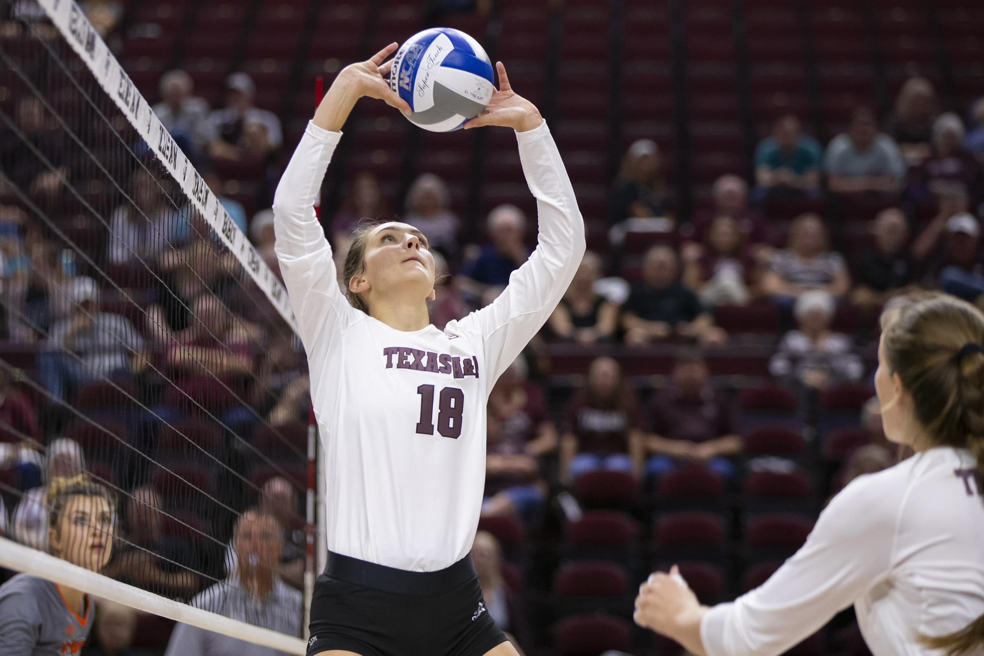 Camille Conner Volleyball Texas A M Athletics Home Of The 12th Man