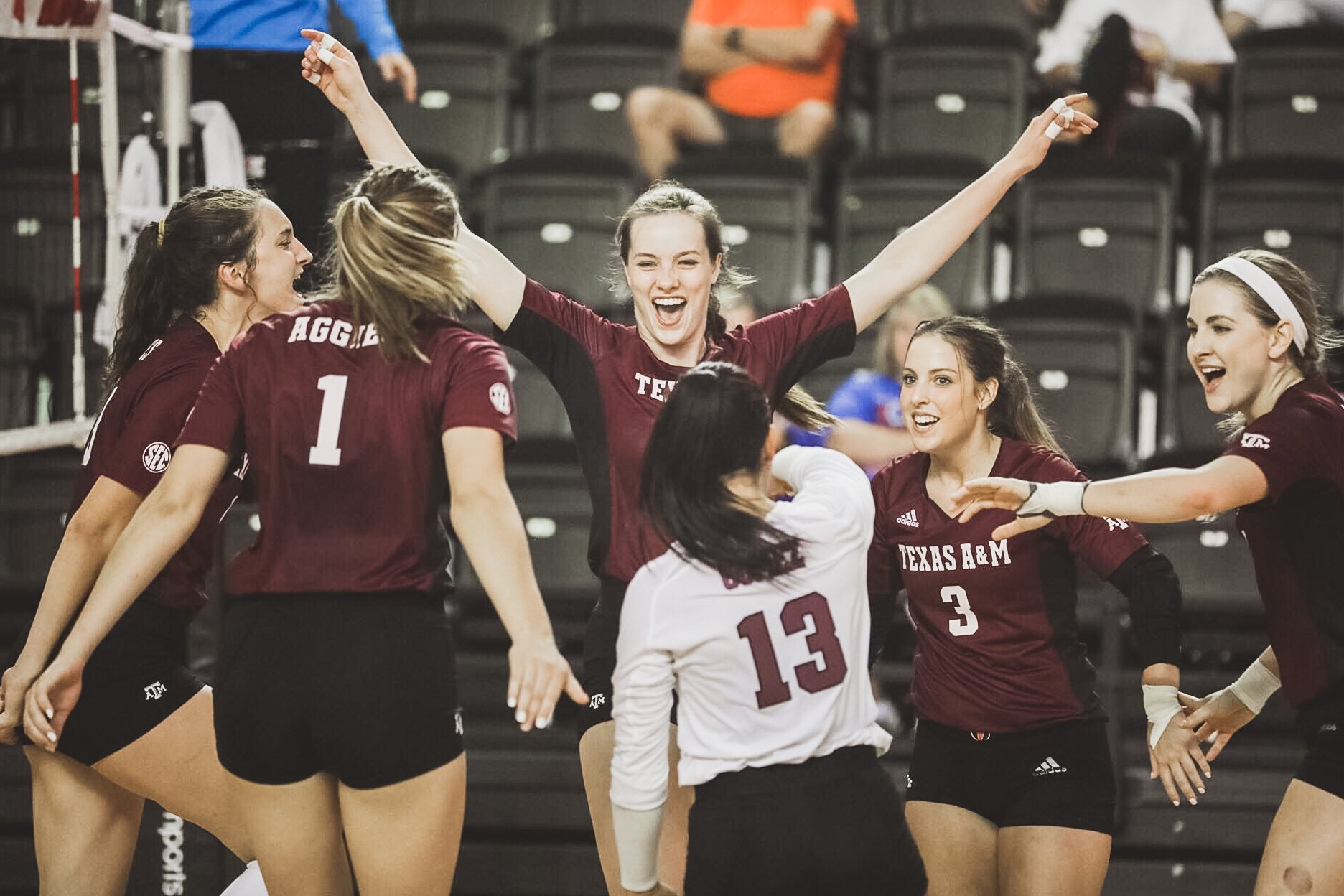 Samantha Sanders Volleyball Texas A M Athletics Home Of The 12th Man