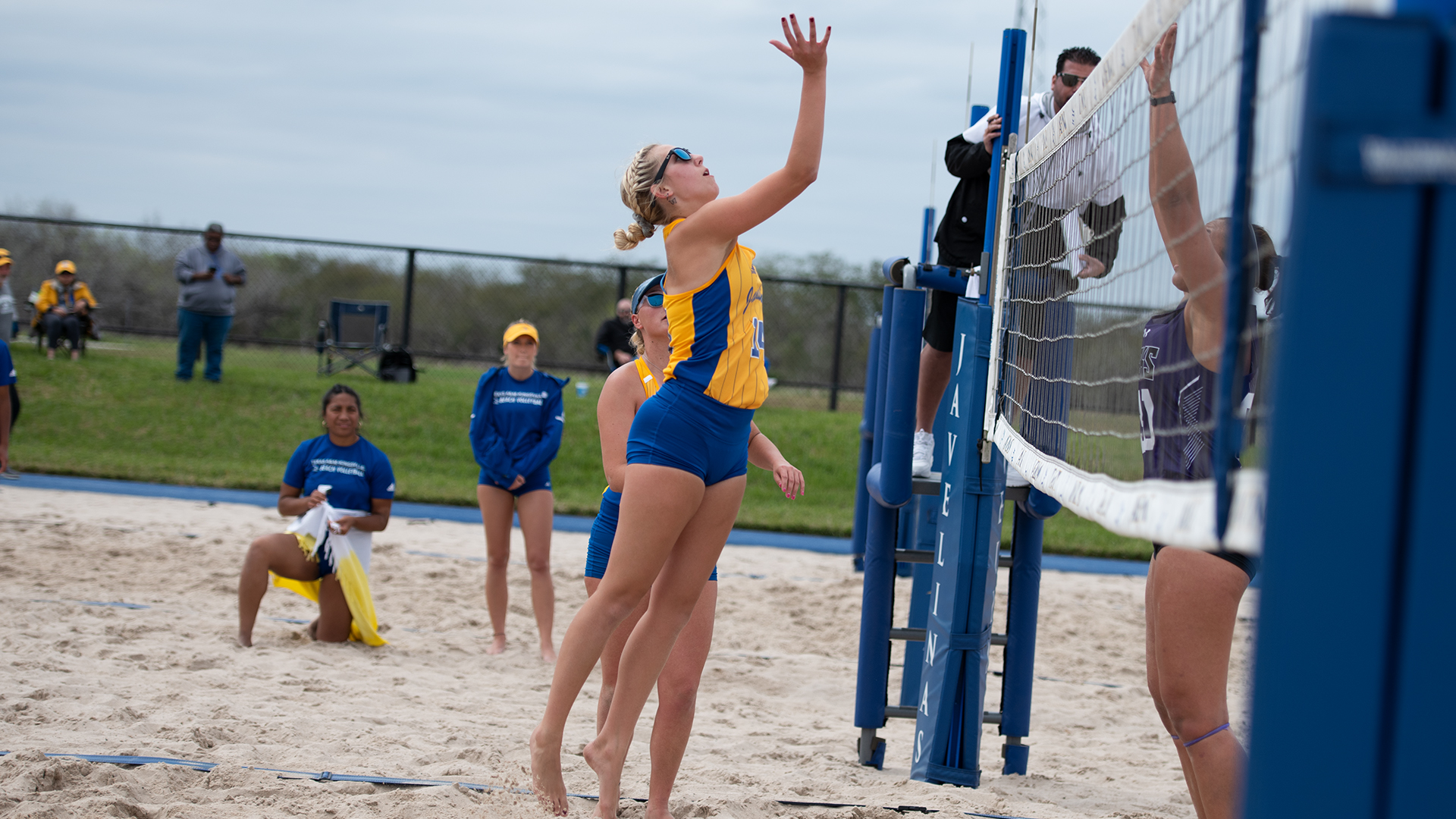 Rylie Anderson Beach Volleyball Texas A M Kingsville Athletics