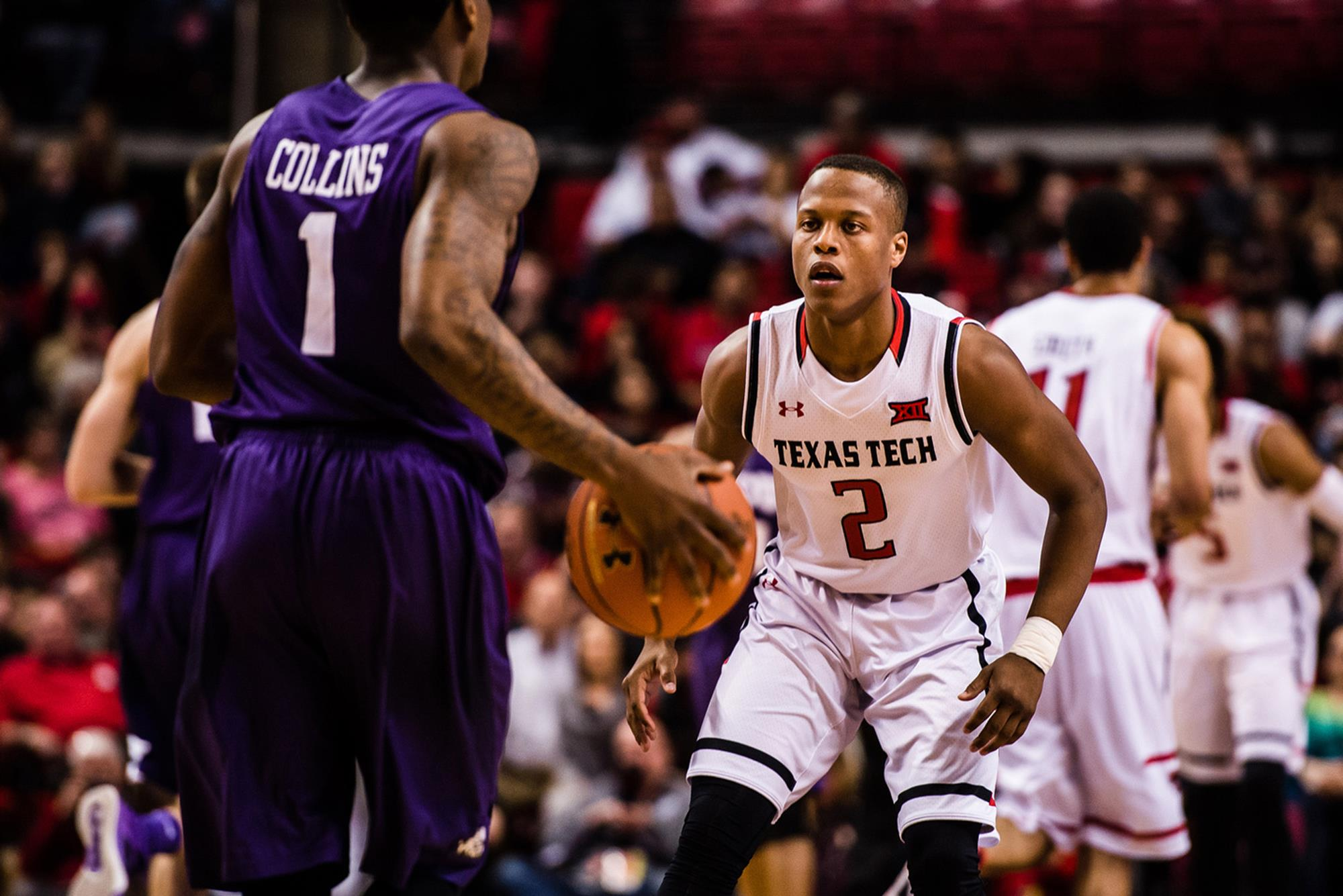 on sale 3d742 6b586 Devon Thomas - Men's Basketball - Texas Tech University ...