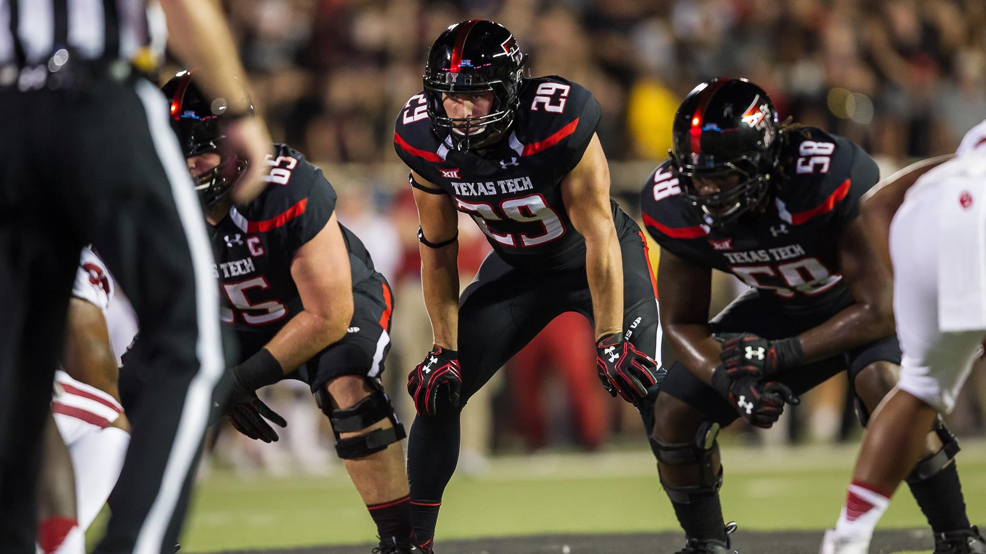 Mason Reed Football Texas Tech Red Raiders