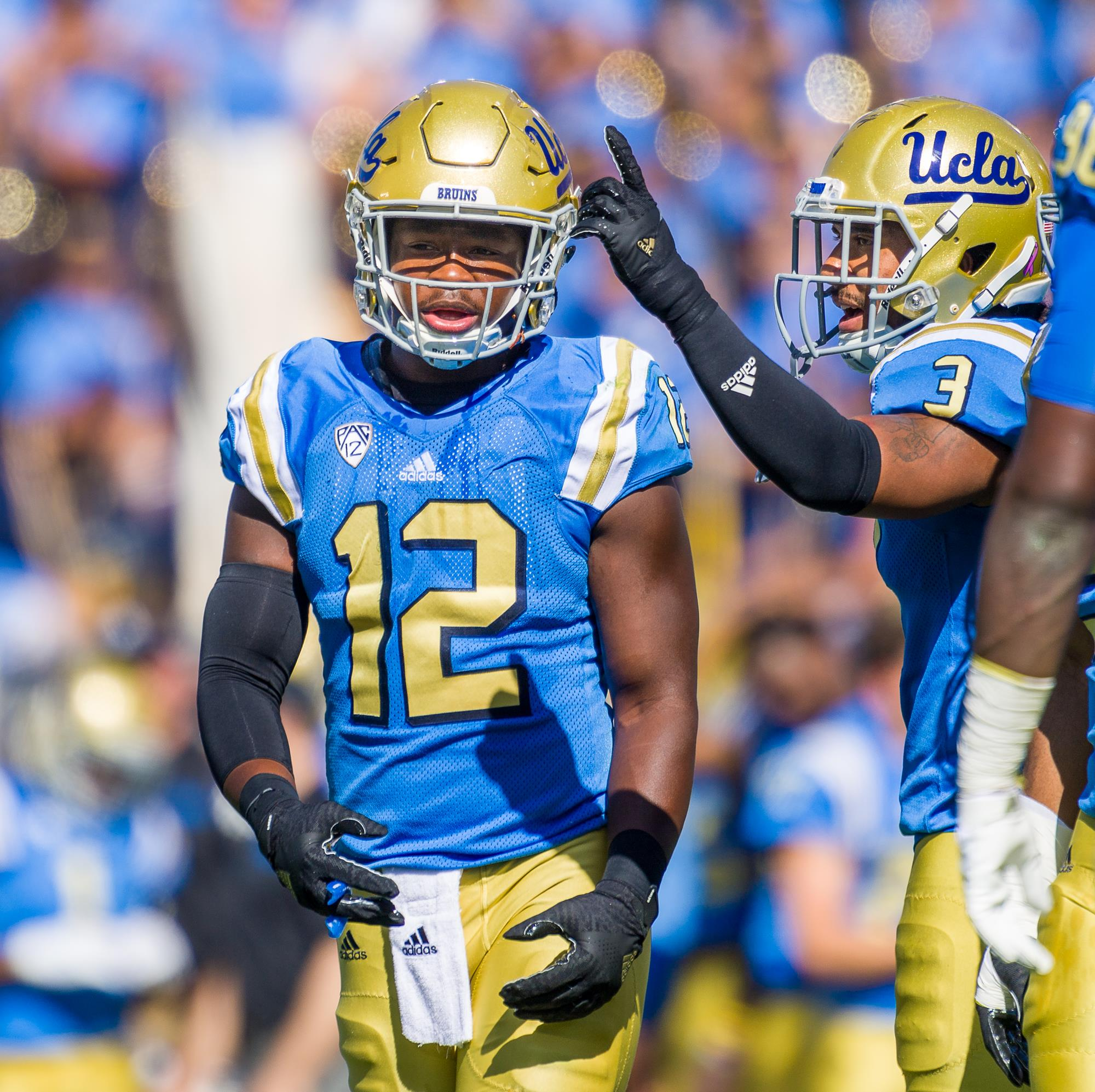 sports shoes 00815 67755 Jayon Brown - Football - UCLA