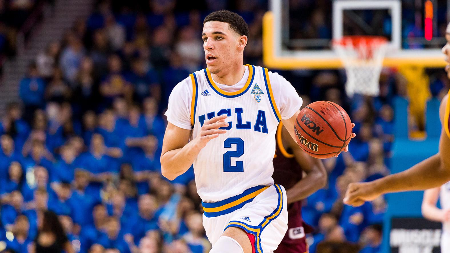 newest fe418 9e951 Lonzo Ball - Men's Basketball - UCLA