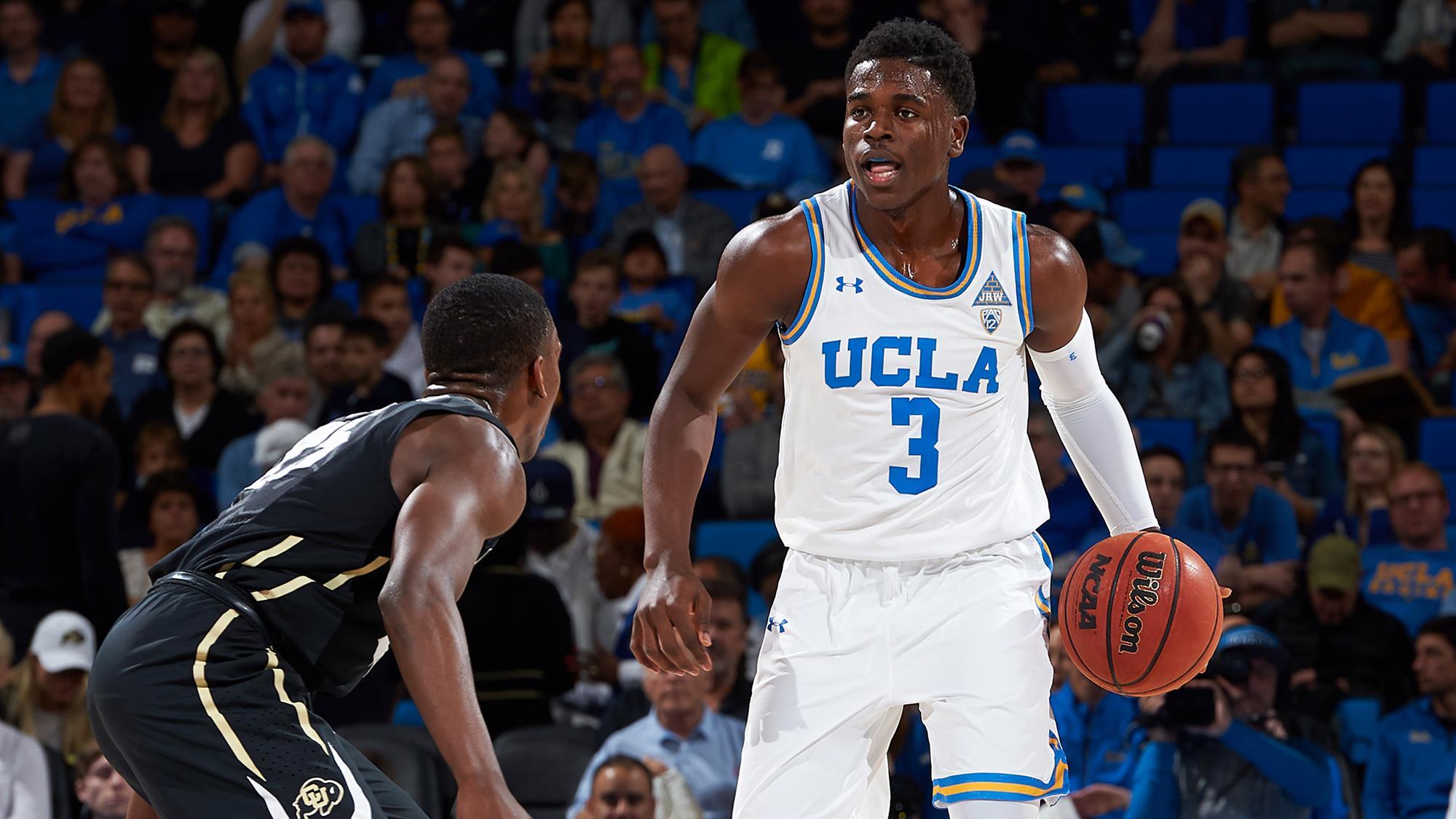 buy online dc3ab 5660d Aaron Holiday - Men's Basketball - UCLA