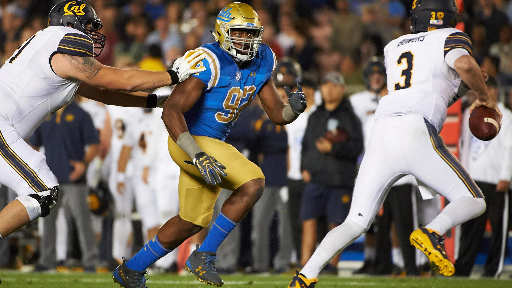 Osa Odighizuwa - Football - UCLA