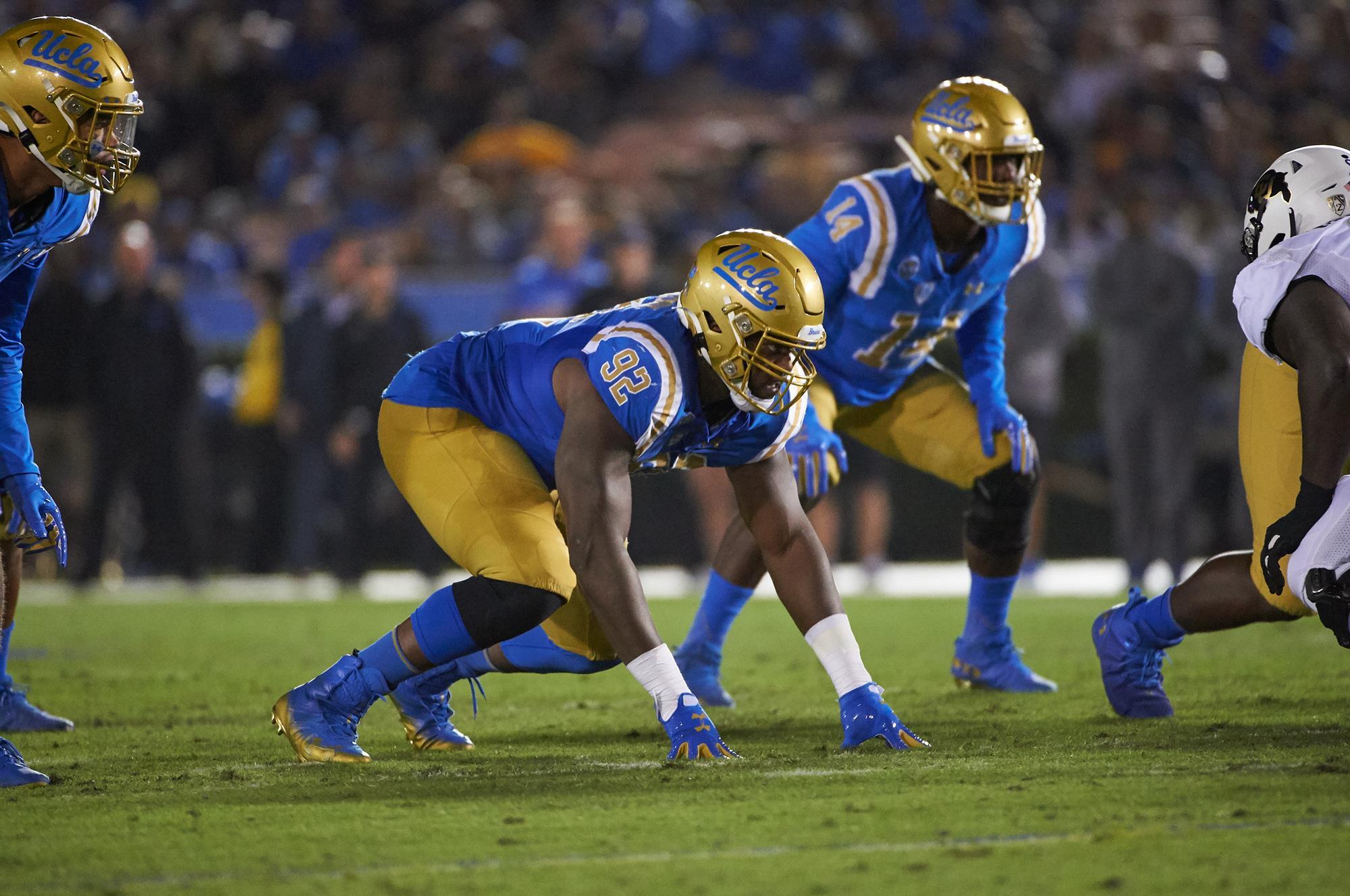 Osa Odighizuwa - Football - UCLA