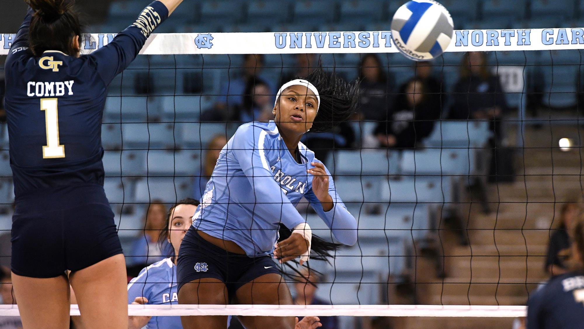 Skyy Howard Volleyball University Of North Carolina Athletics